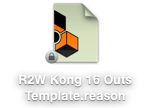 R2W Kong 16 Outs Template