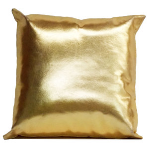 Gold Metallic Throw Pillow Fab U Tique The Chic Party Boutique