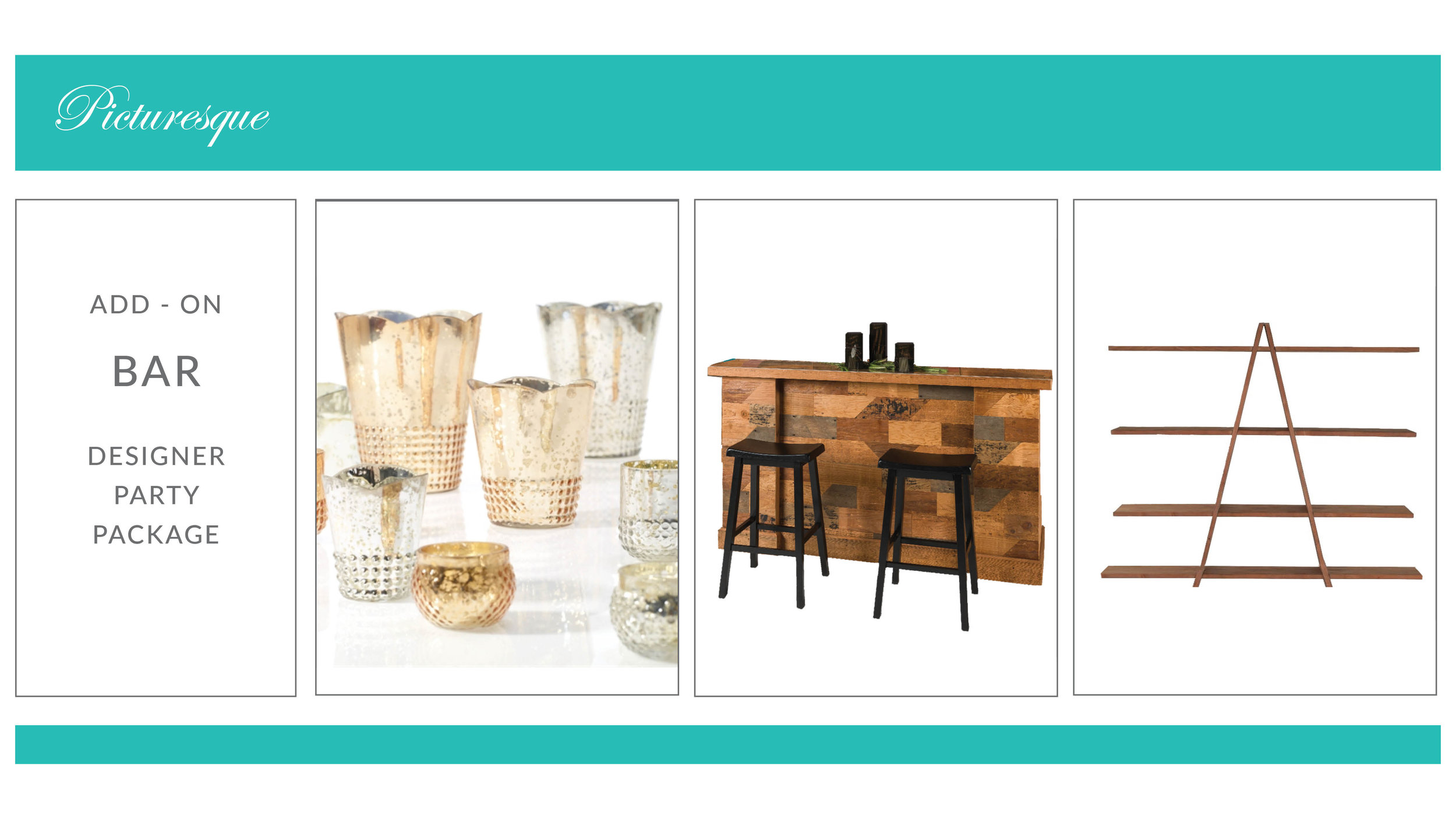 ADD-ON: Picturesque Bar Package