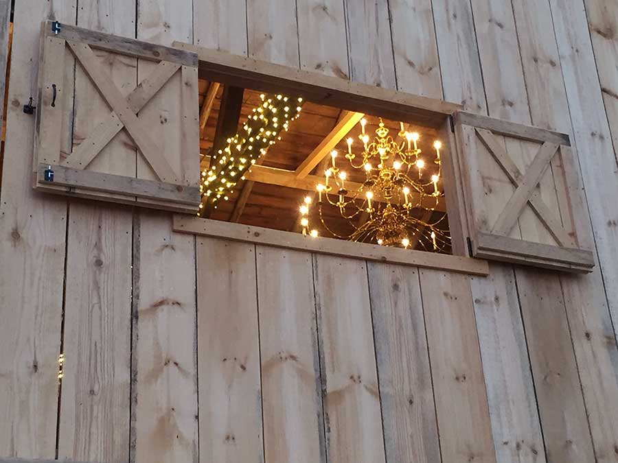 Magic in the Details – The wedding barn's meticulous restoration and old world charm provide stunning photo ops inside and out.