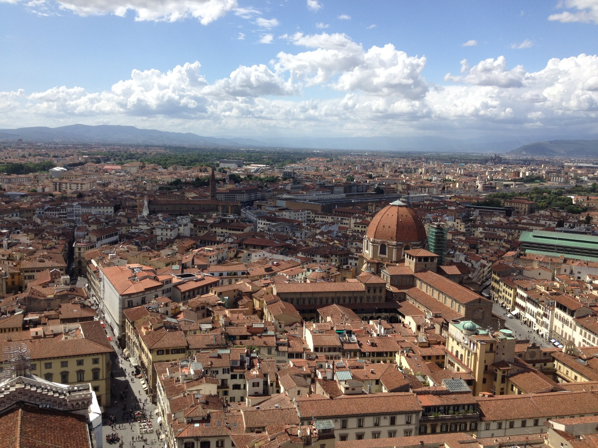 Florence (Firenze), Italy viewed from the Duomo