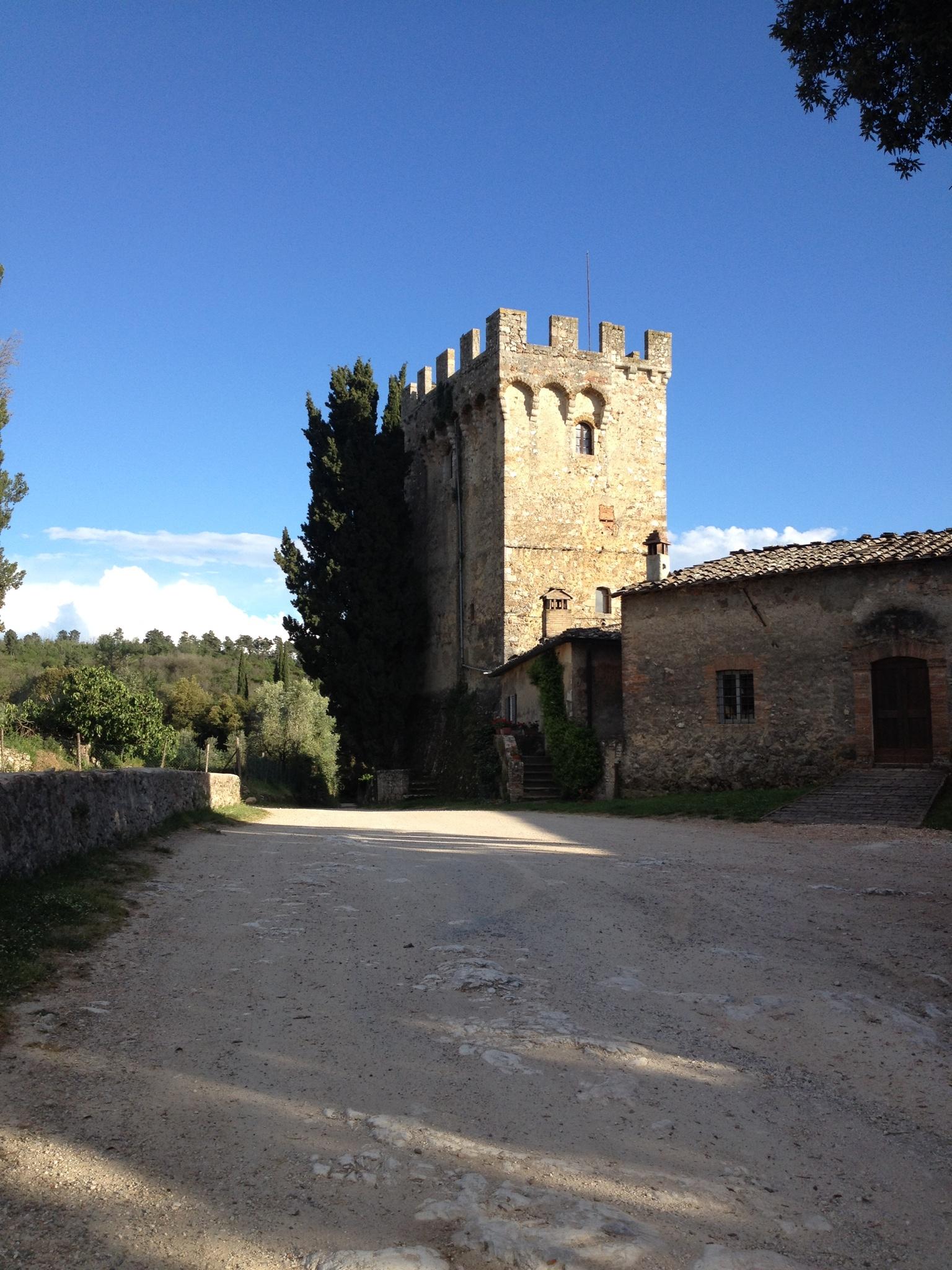 The keep at Spannocchia