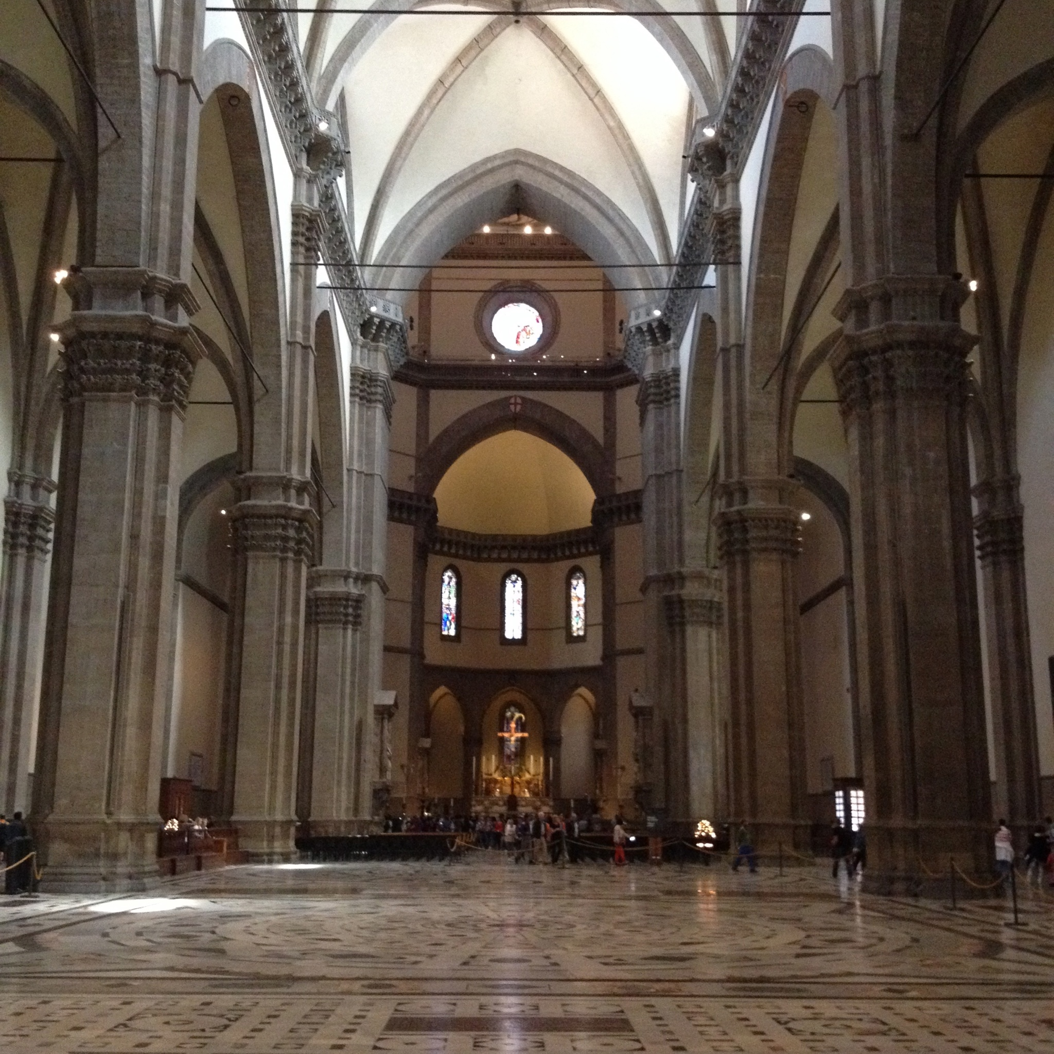 Inside the Duomo of Firenze