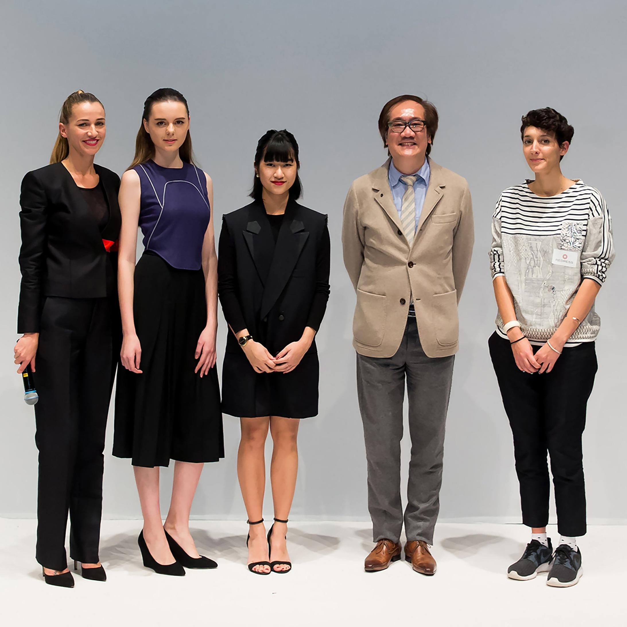 The EcoChic Design Award 2015/16 Alumni Prize   Wan & Wong Fashion, Clémenetine Sandner