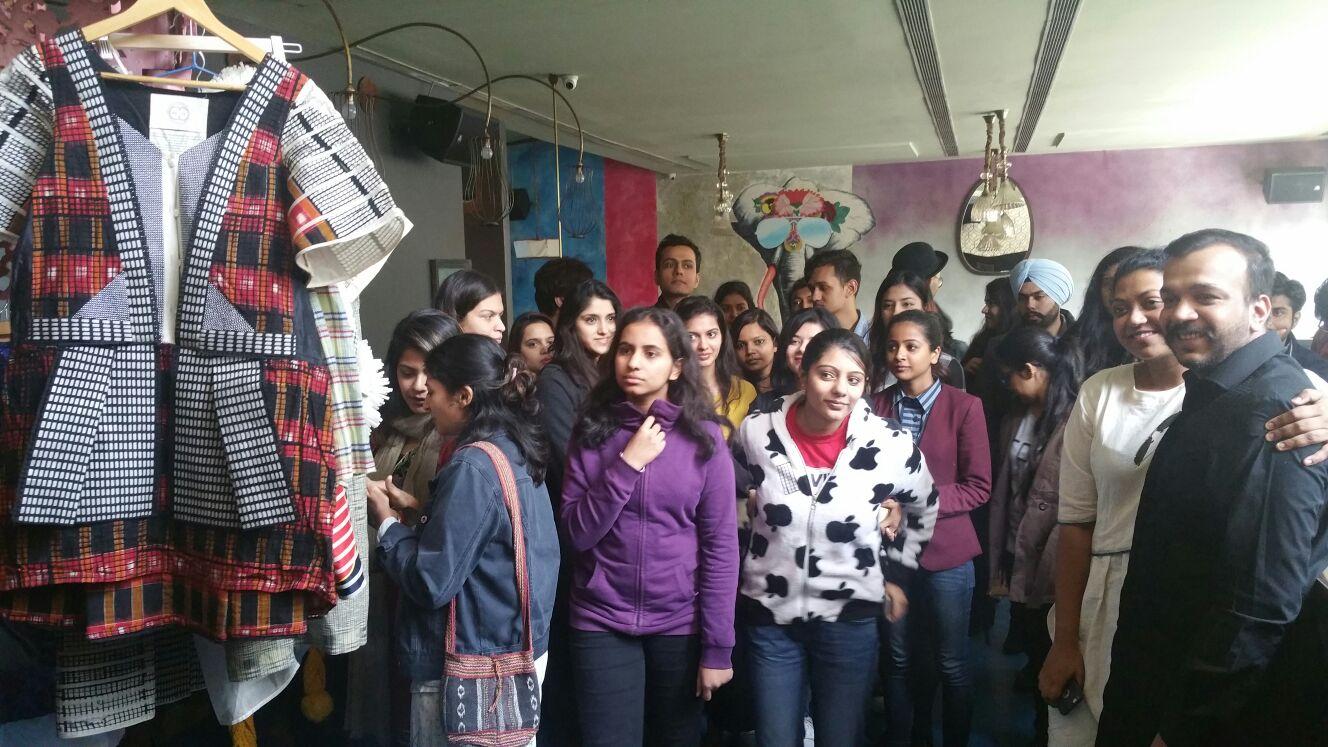 EcoChic Design Award Fashion Academy in New Delhi