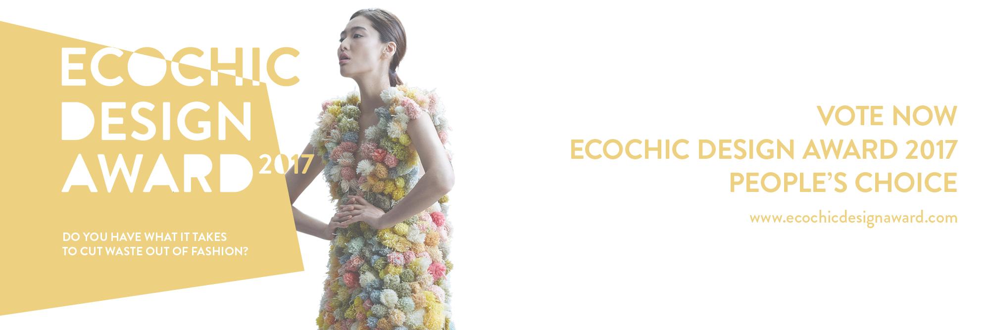 The Ecochic Design Award 2017 Semi Finalists Redress Design Award