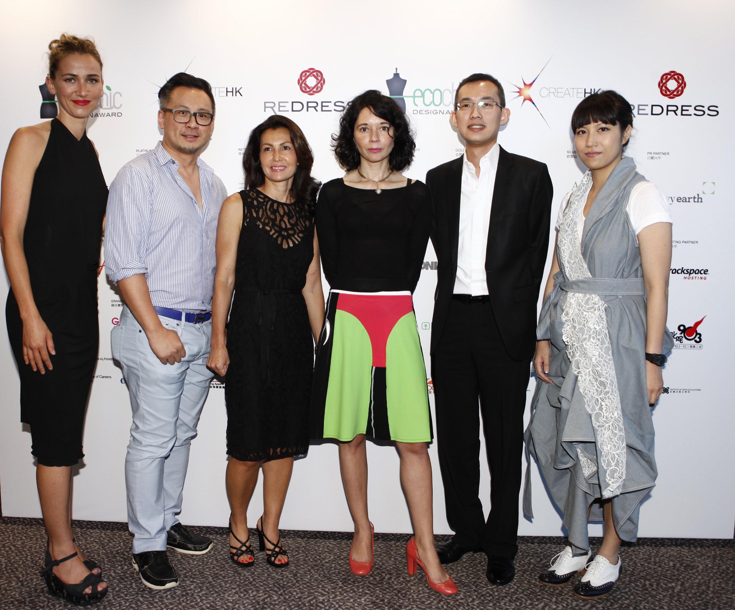 Redress Design Award 2013 judges including Margaret Kutt, Orsola de Castro and Anderson Lee