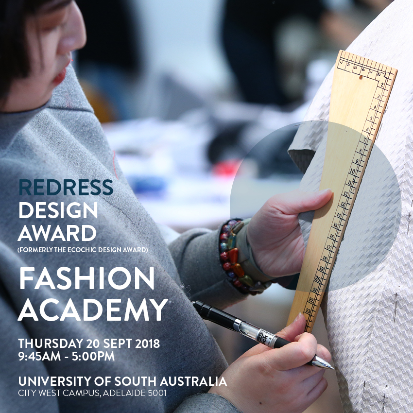 Redress Design Award Fashion Academy At Adelaide Australia Redress Design Award