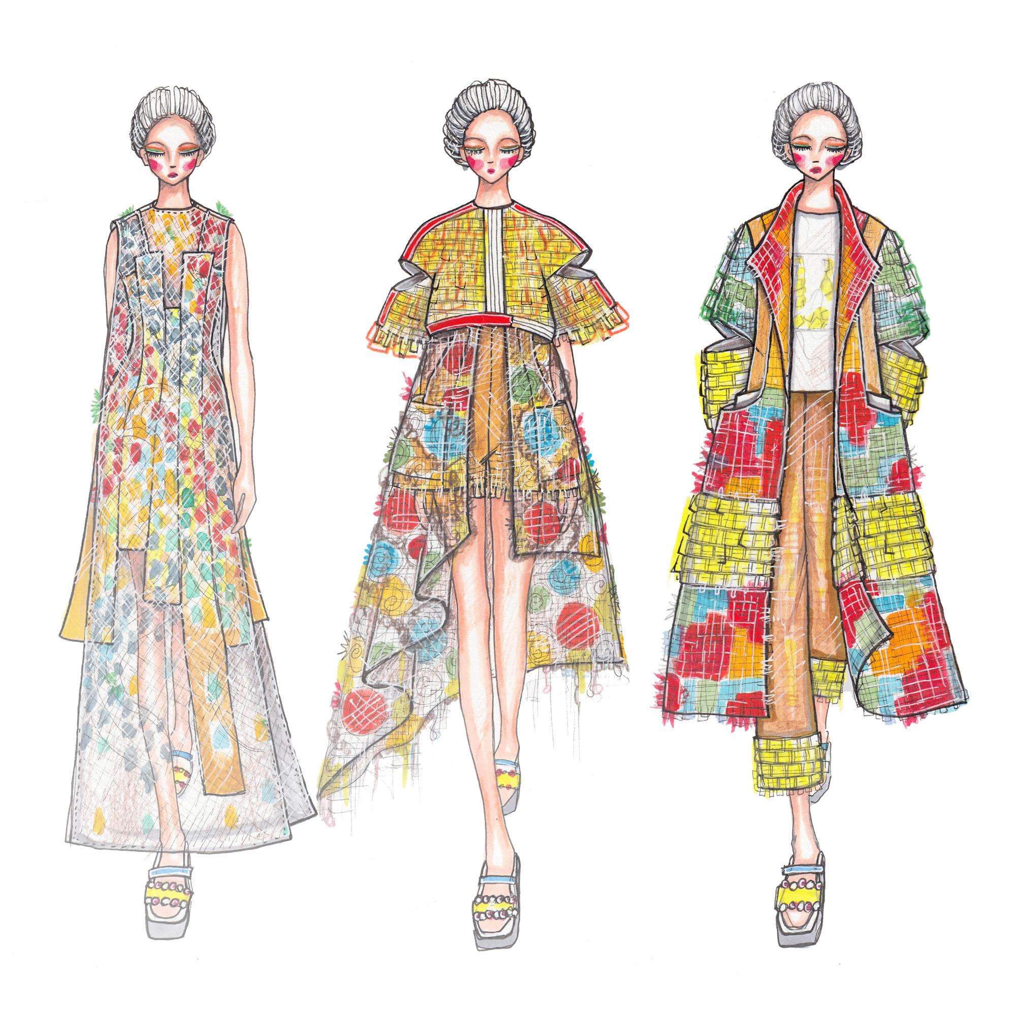The Redress Design Award 2018 People's Choice Award   Mimi Jeong, USA