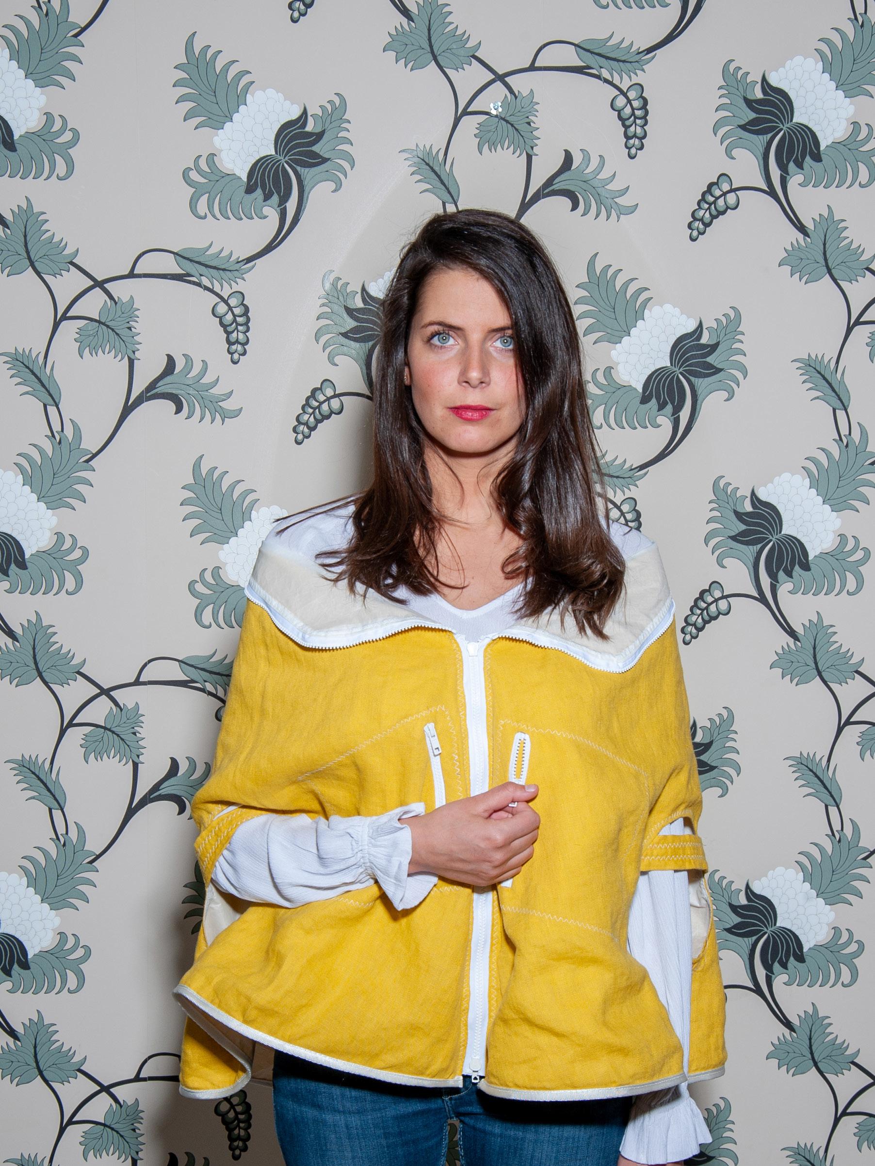Claire Dartigues - 'Nouveau Paris' Cape/Bag