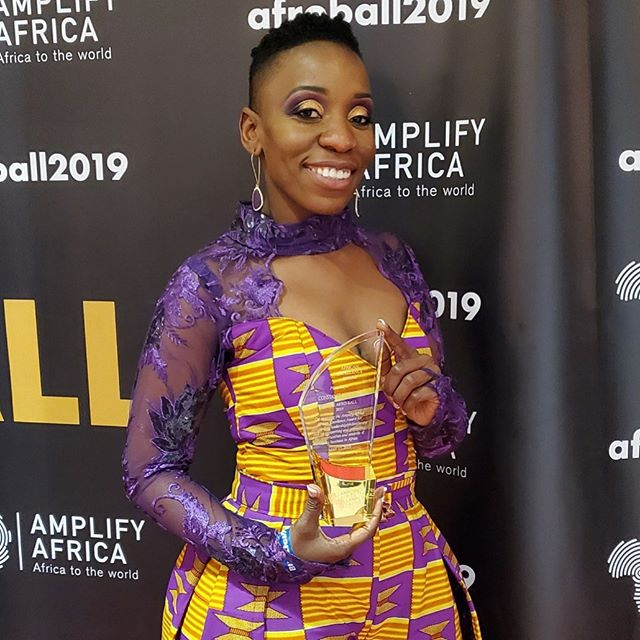 I had an amazing time at the @theafroball meeting and celebrating amazing individuals. I am so Honored to receive the @amplifyafrica African Excellence Philanthropy & Leadership Award.  The #AfroBall: This fashion conscious, philanthropic event celebrates individuals who are amplifying Africa and the diaspora by excelling in their respective professional and creative fields. - Makeup: @glambymaureen - Styled by: @styledbyyvonne - #afroball2019 #ConstanceMoonzwe #meetconstance #africanexcellence