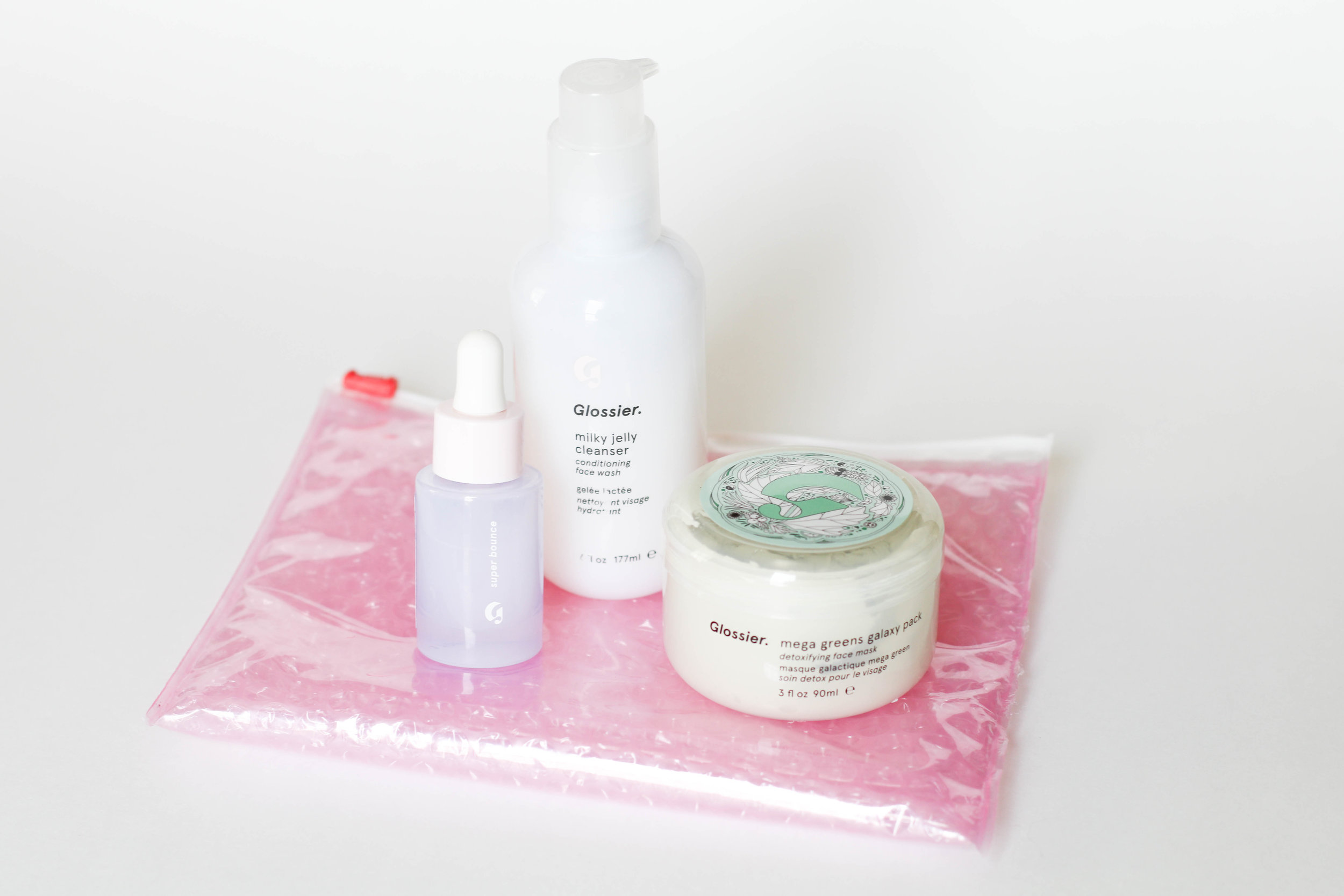 Skincare - Super Bounce -Milky Jelly Cleanser - Mega Greens Galaxy Mask