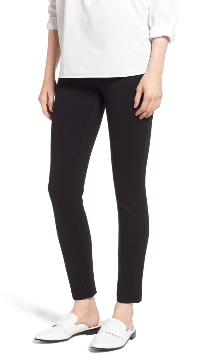 J.Crew Any Day Stretch Ponte Pants - Since the revolution of athleisure, I have no desire to not be wearing yoga pants, but unfortunately yoga pants can't always as REAL pants. Enter the J.Crew Any Day Stretch Ponte Pants (wow that's a mouthful). They are stretchy and thick so are held in and shaped like a yoga pant, but look 10 times more put together!