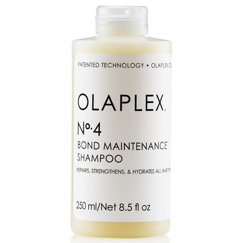 Olaplex No. 4 Bond Maintenance Shampoo + No. 5 Bond Maintenance Conditioner - If you have yet to try Olaplex at the salon or at home you need to ASAP. It's the only patented hair treatment to repair hair from the inside out. Meaning split ends and damage are on their way out and shiny, soft, and split-end free hair is coming! Olaplex just released a shampoo and conditioner to round out their whole system, so now we can get even better and faster results between salon visits!