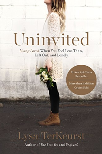Uninvited by Lysa TerKeurst - Rating: 5/5Uninvited was the first book of Lysa TerKeurst's that I have read and honestly I went in a bit skeptical. Based on other's opinions, Lysa's books either are loved or left with indifference. I thought I was going to fall in the latter group, but I loved every bit of it. The entire premise of the book revolves around the feeling of rejection, in all forms. There are so many times that our actions are merely reactions to rejection, even when we don't know it! I loved the practical and biblical truth she detailed when dealing with this topic. Was each principle life changing or even new? No. But sometimes even when you've heard a hard truth a hundred times before, it doesn't really become real until you're in the middle of something and you hear it again for the hundred and first time. Everything clicks and God shows His hand so prevalently. After reading this book (which was pretty much entirely underlined) I started to also listen to her ministry's podcast, The Proverbs 31 Podcast. I listened to the podcast the entire two day drive to Denver and loved every minute of it. Lysa's writing and the podcast is definitely Southern, so a lot of their mannerisms can be a bit cliché and saccharine, but the truth is there and I highly recommend it, especially the Theology & Therapy six week series!Is it a must read? Yes! Go in with an open mind. You might not be in a place that this topic is very prevalent, but the truth that is there is fantastic and I'm sure you will learn something.