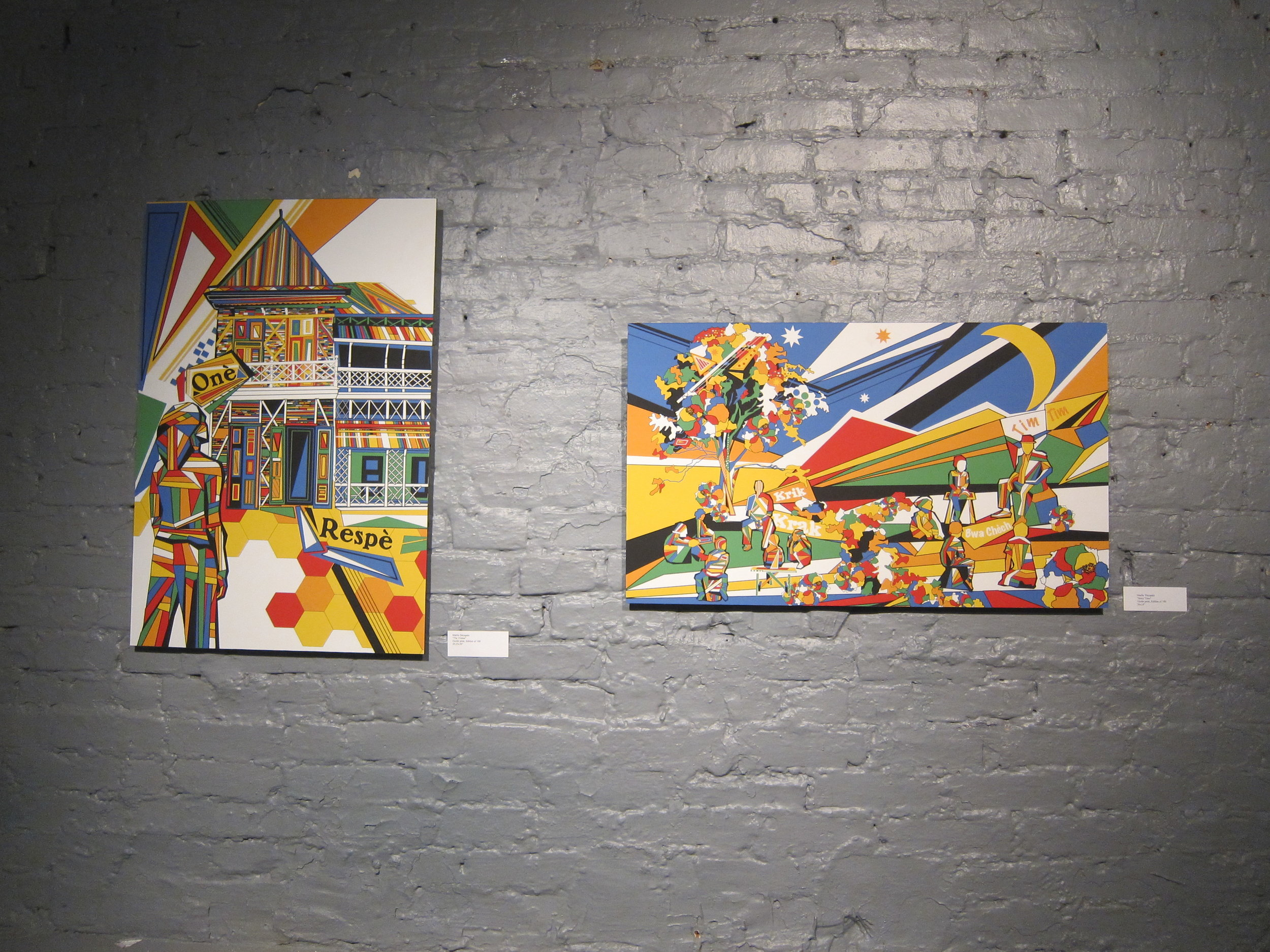 Exhibition at Five myles galLery
