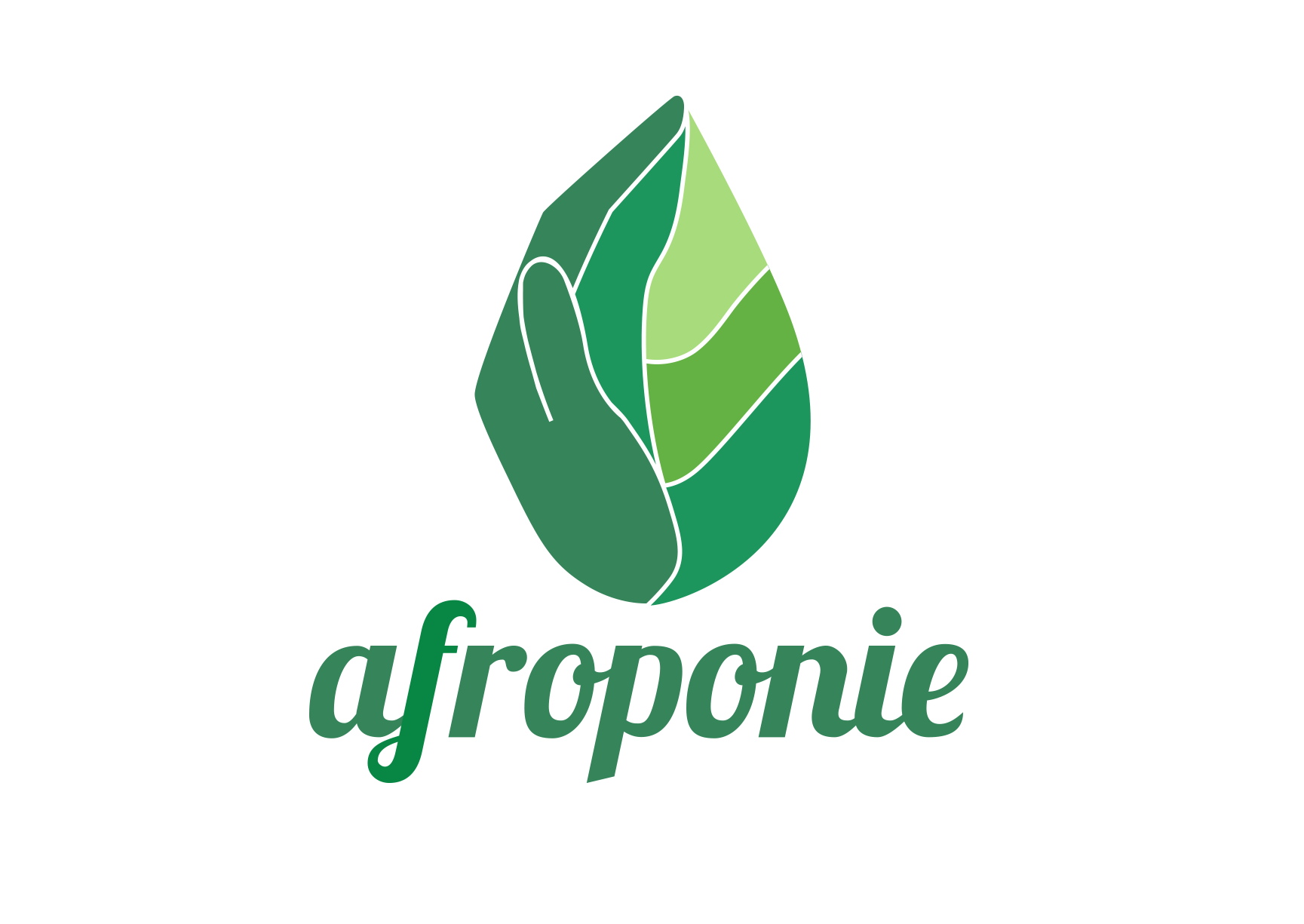 Afroponie • Logo Design