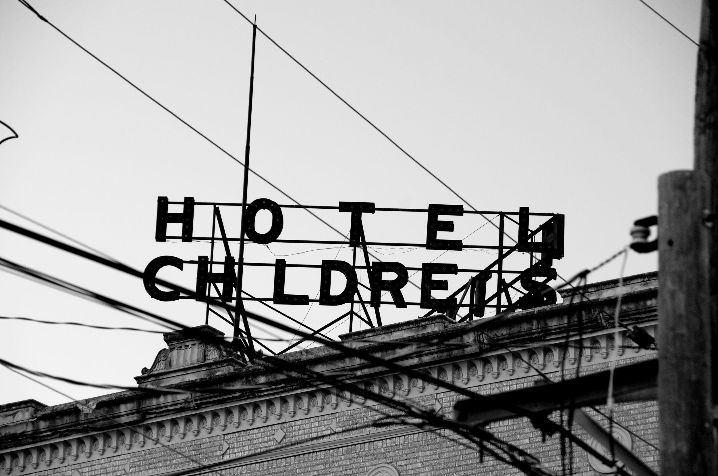 The abandoned Hotel Childress