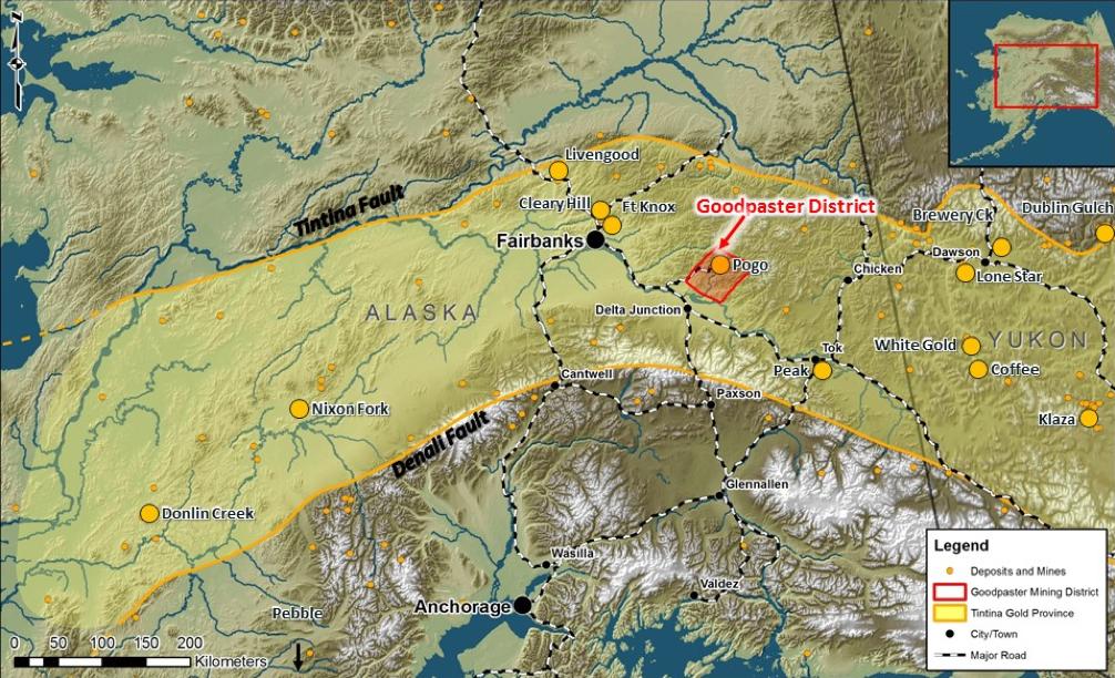 Tintina Gold Province – Alaska-Yukon
