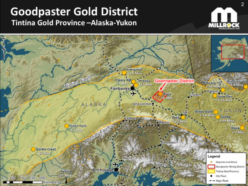 Figure 1.    Goodpaster District Location Map