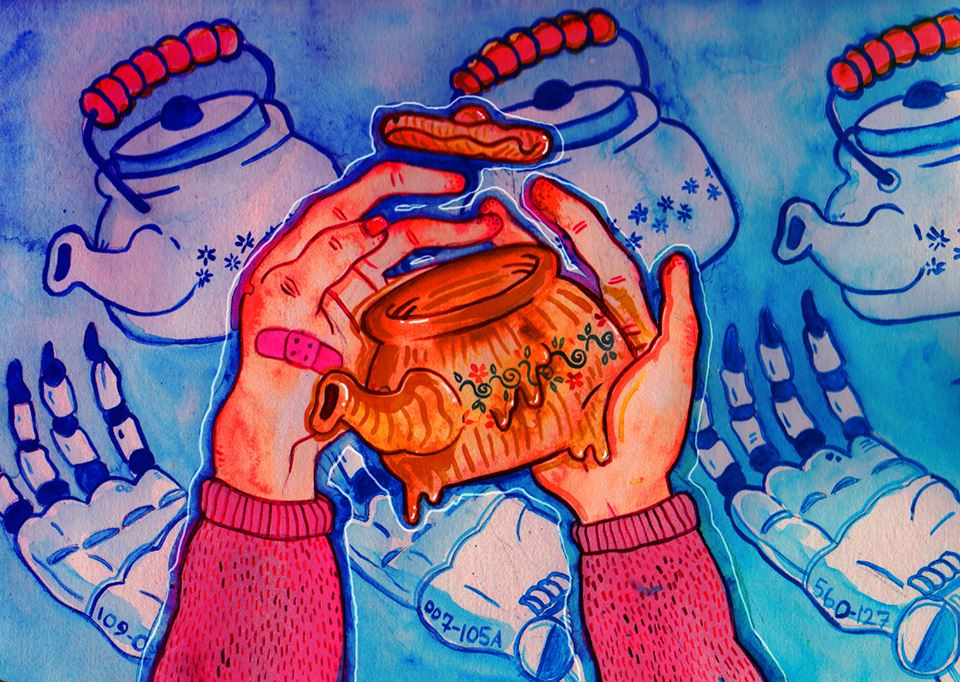 Illustration by Rajesh Saraswati