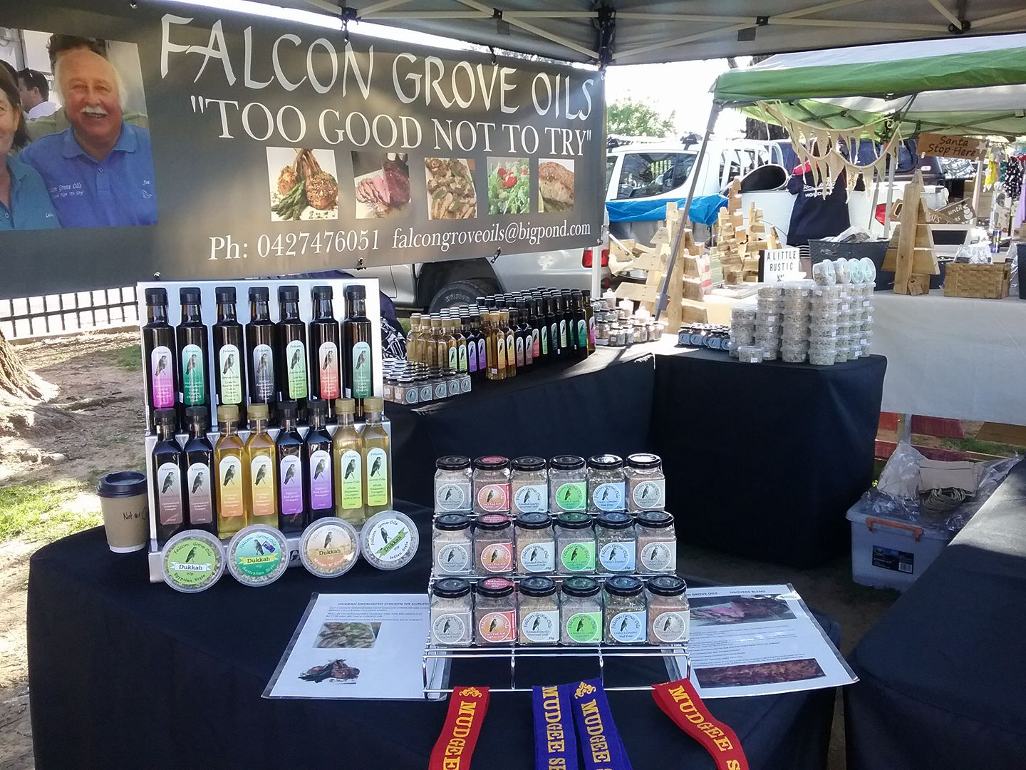 Falcon Grove Oils Nosh Exhibitor