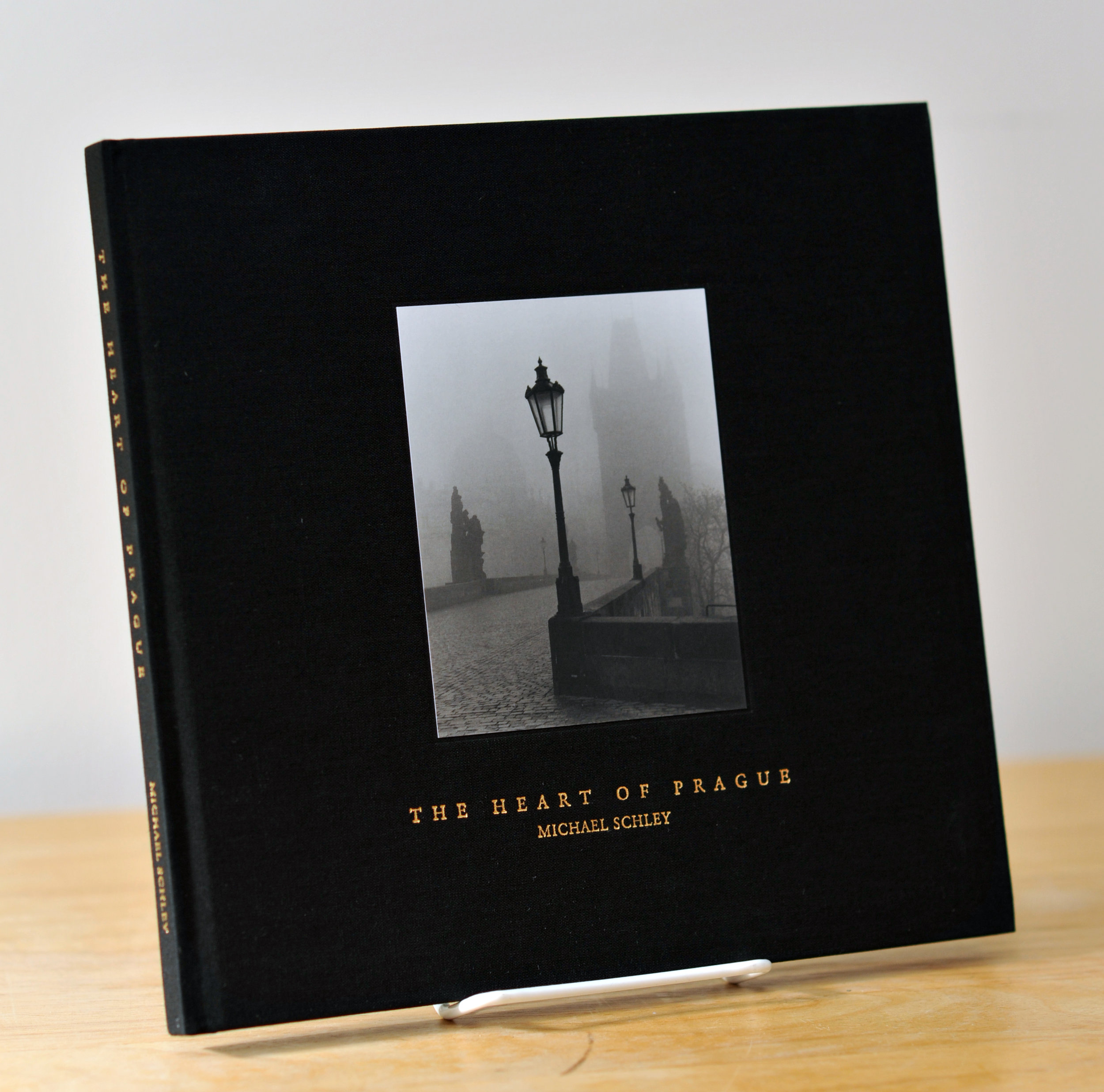 Limited edition hardcover photography book by Michael Schley