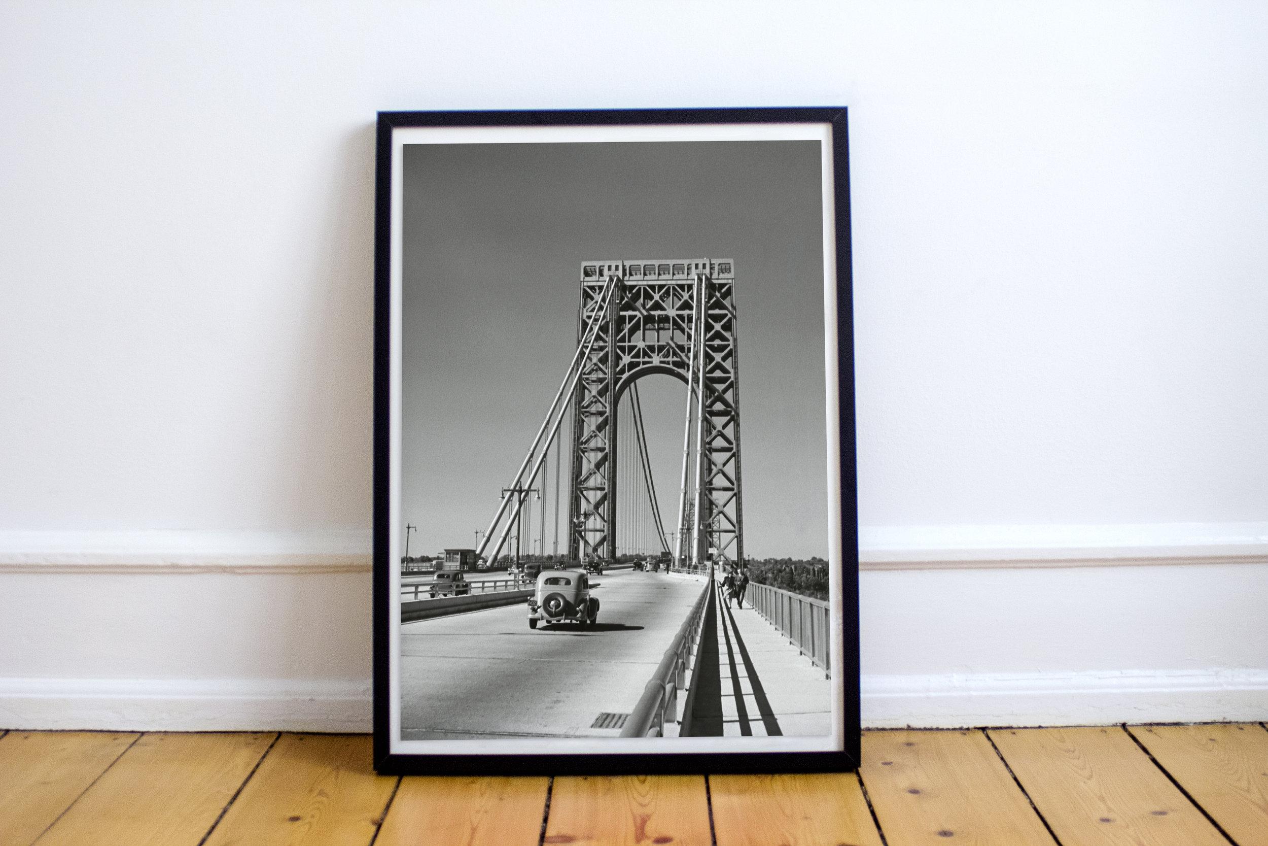 George Washington Bridge 1930s