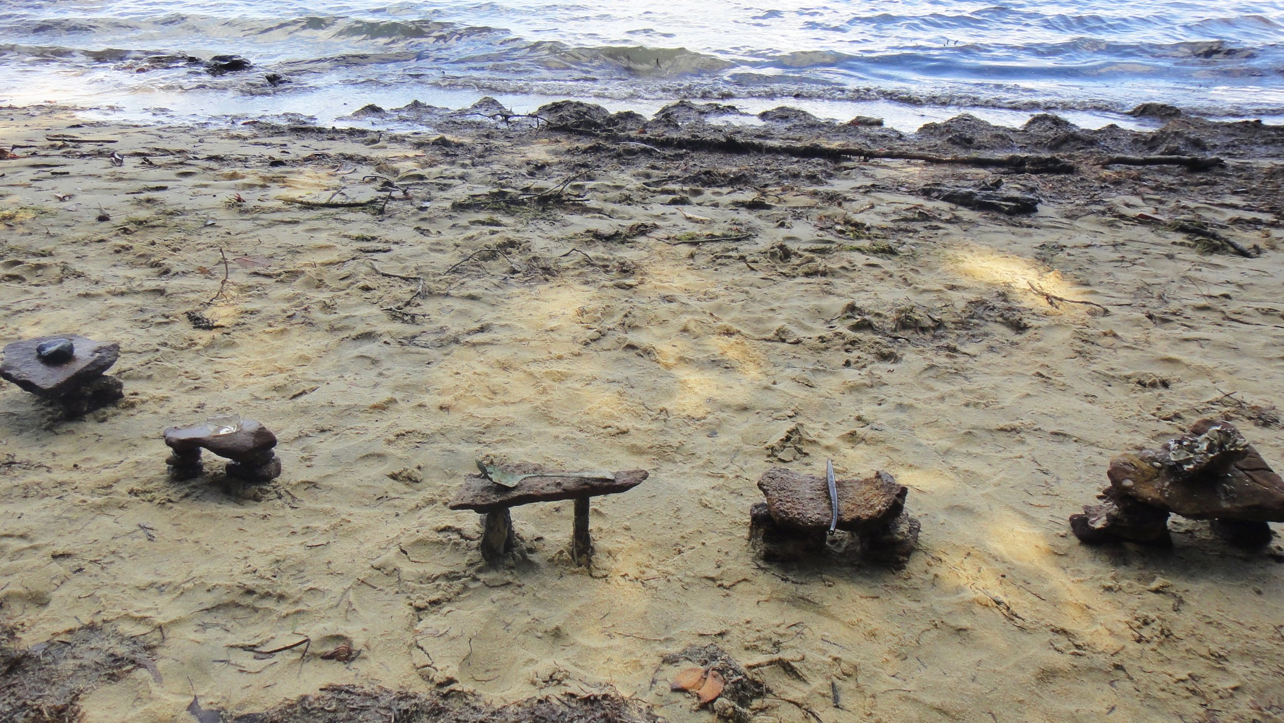 special objects, Adam's Beach