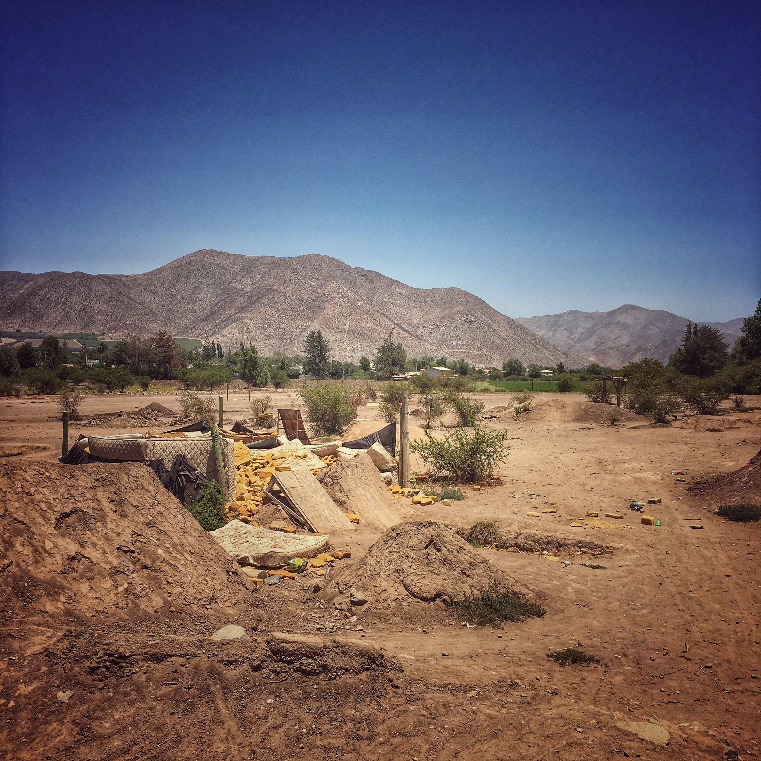 dustbowl BMX track: Vicuña