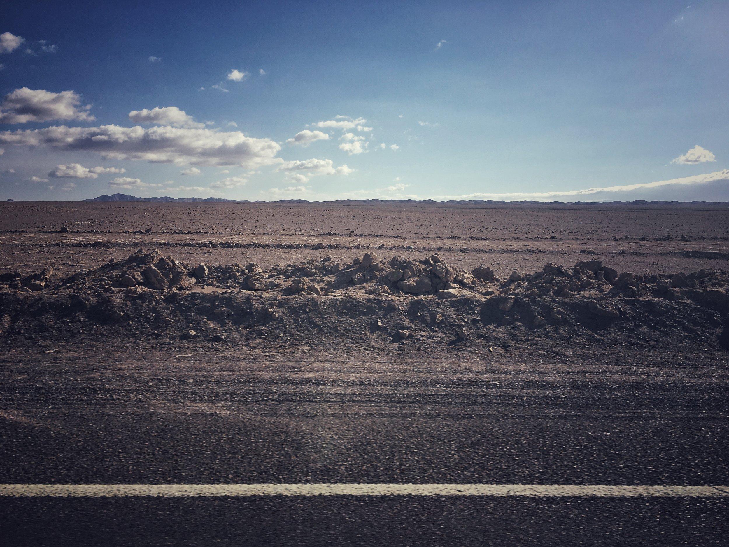 Calama to San Pedro de Atacama