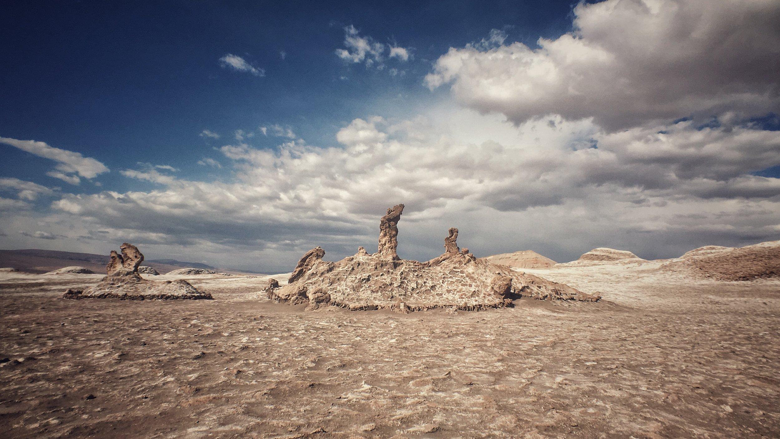 watchmen over old salt mine