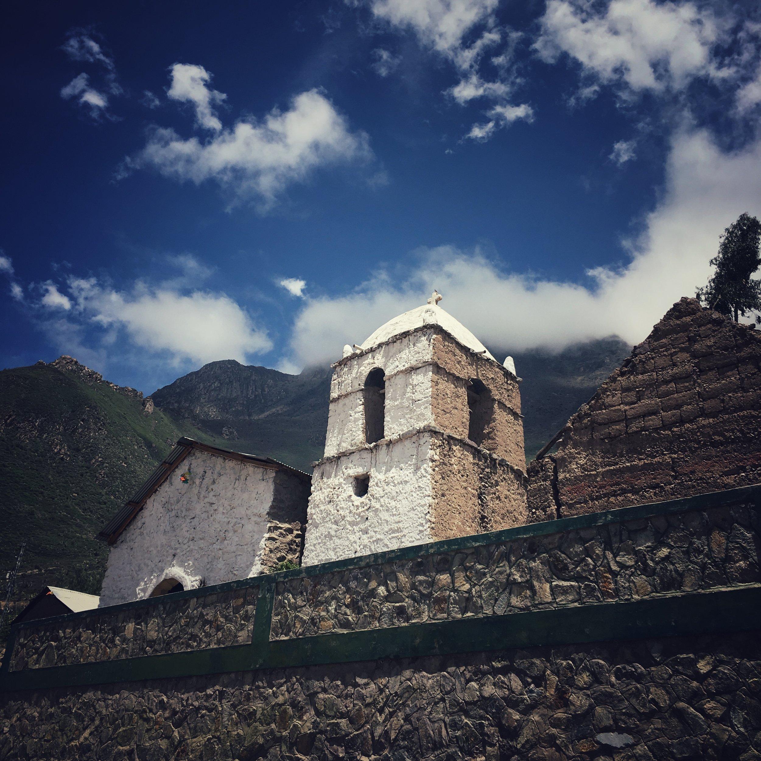 walking out : San Juan de Chuccho