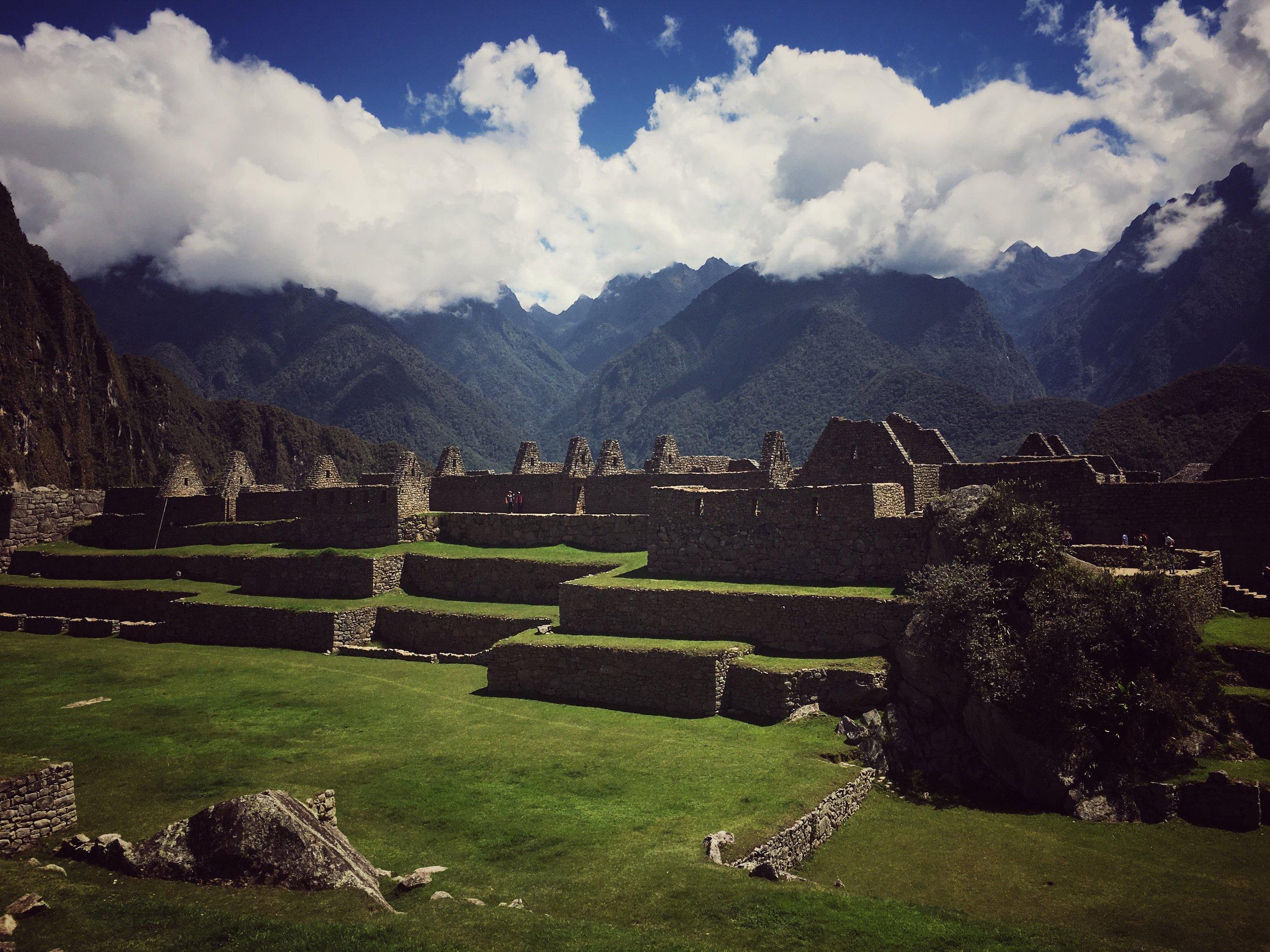 Macchu Picchu : the detail mark I