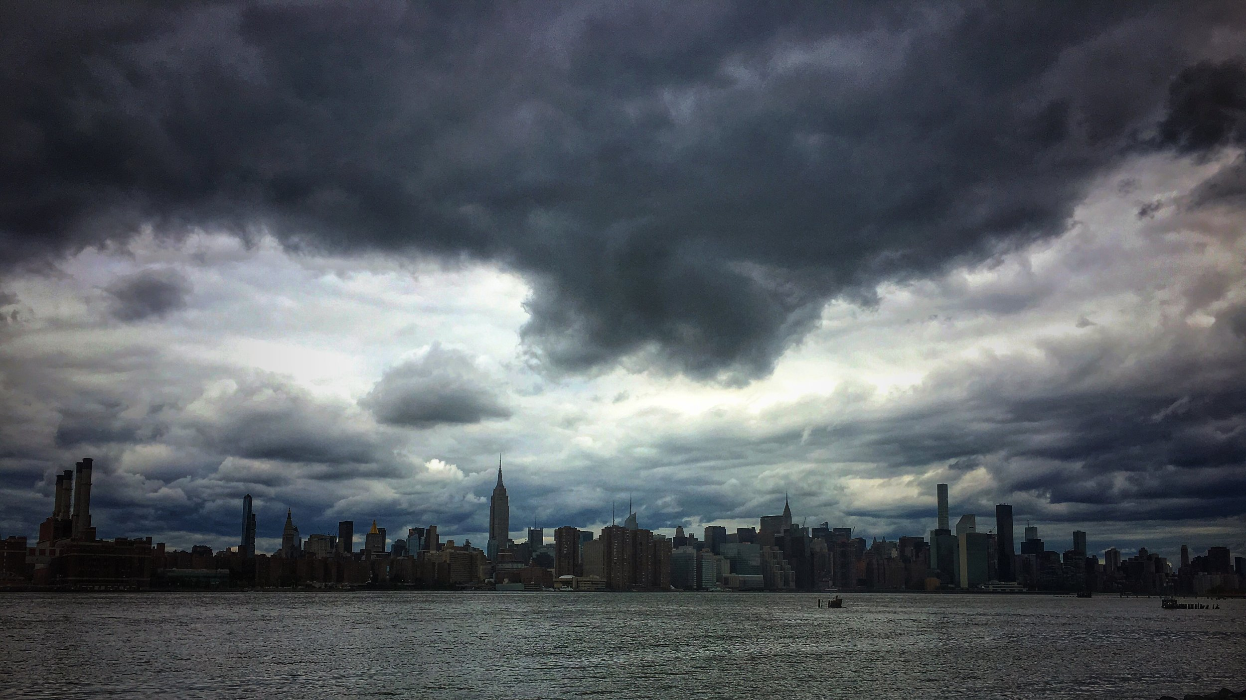 Manhattan storms