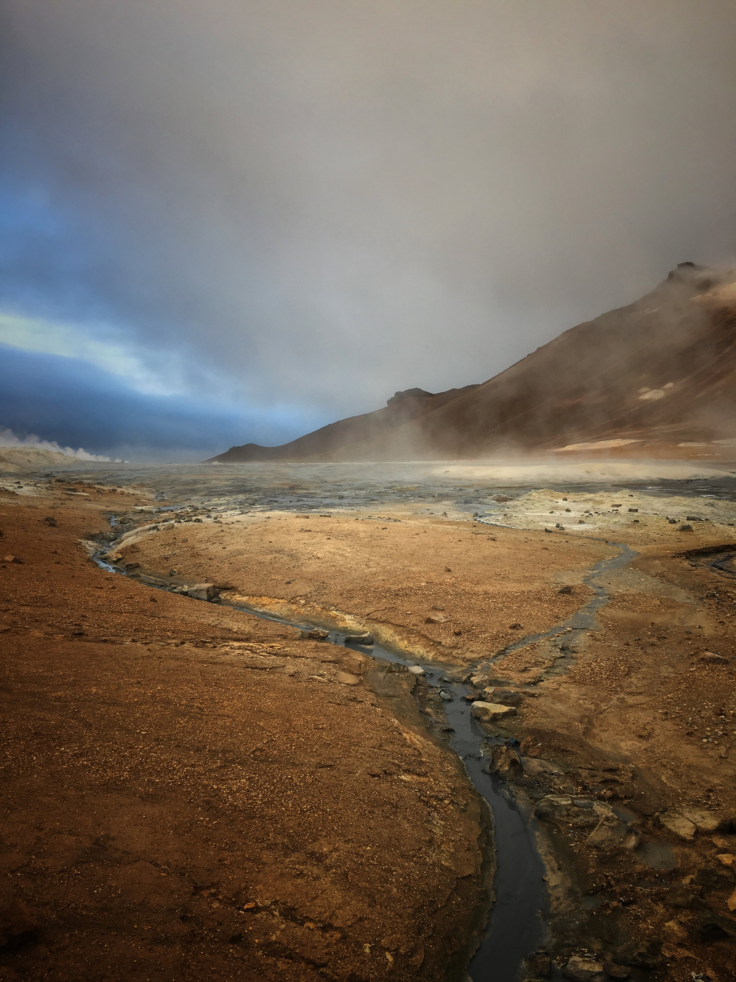 Hverir lava fields