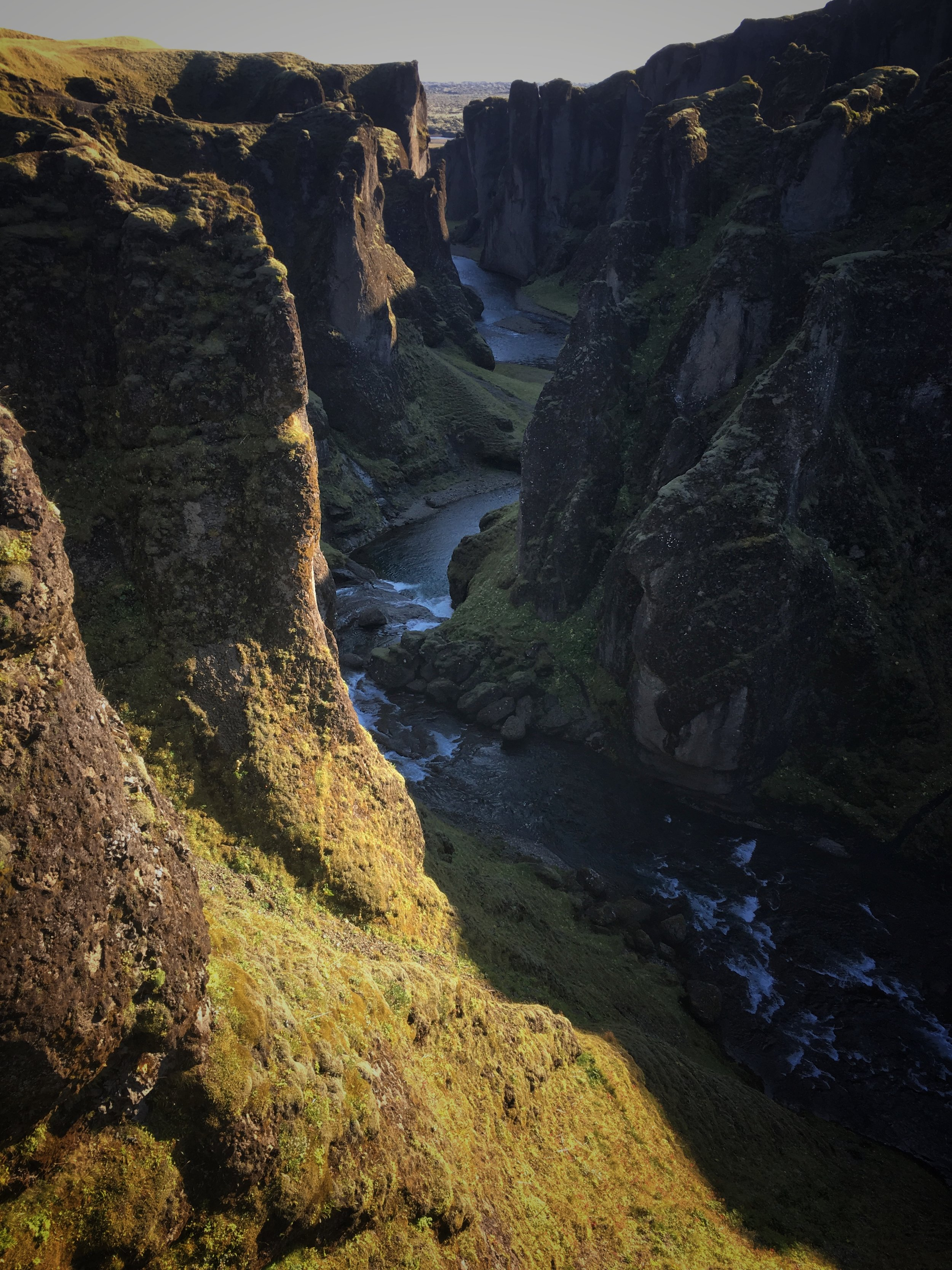 Fjardragljufur Canyon