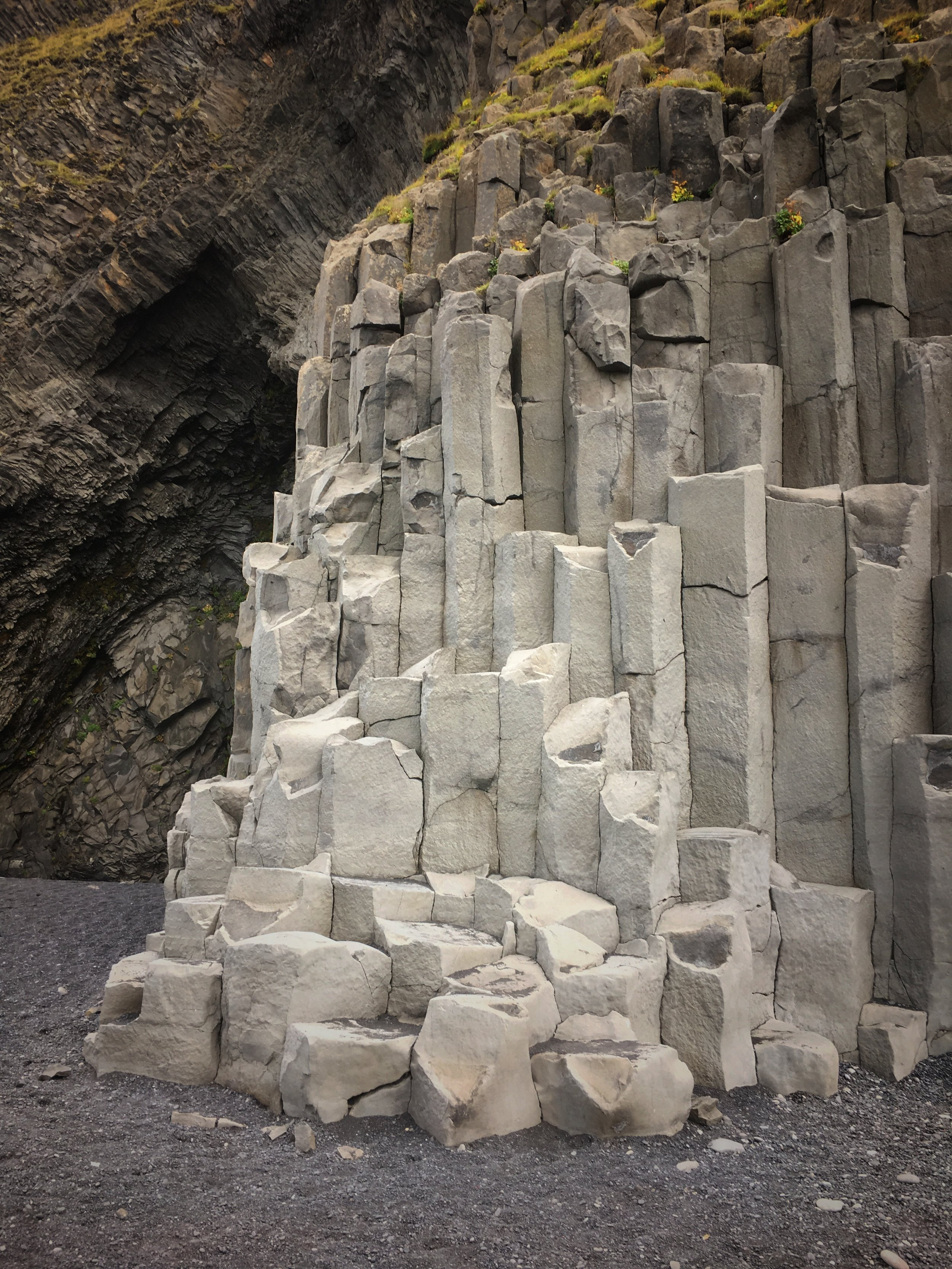 basalt columns Reynifsarja beach