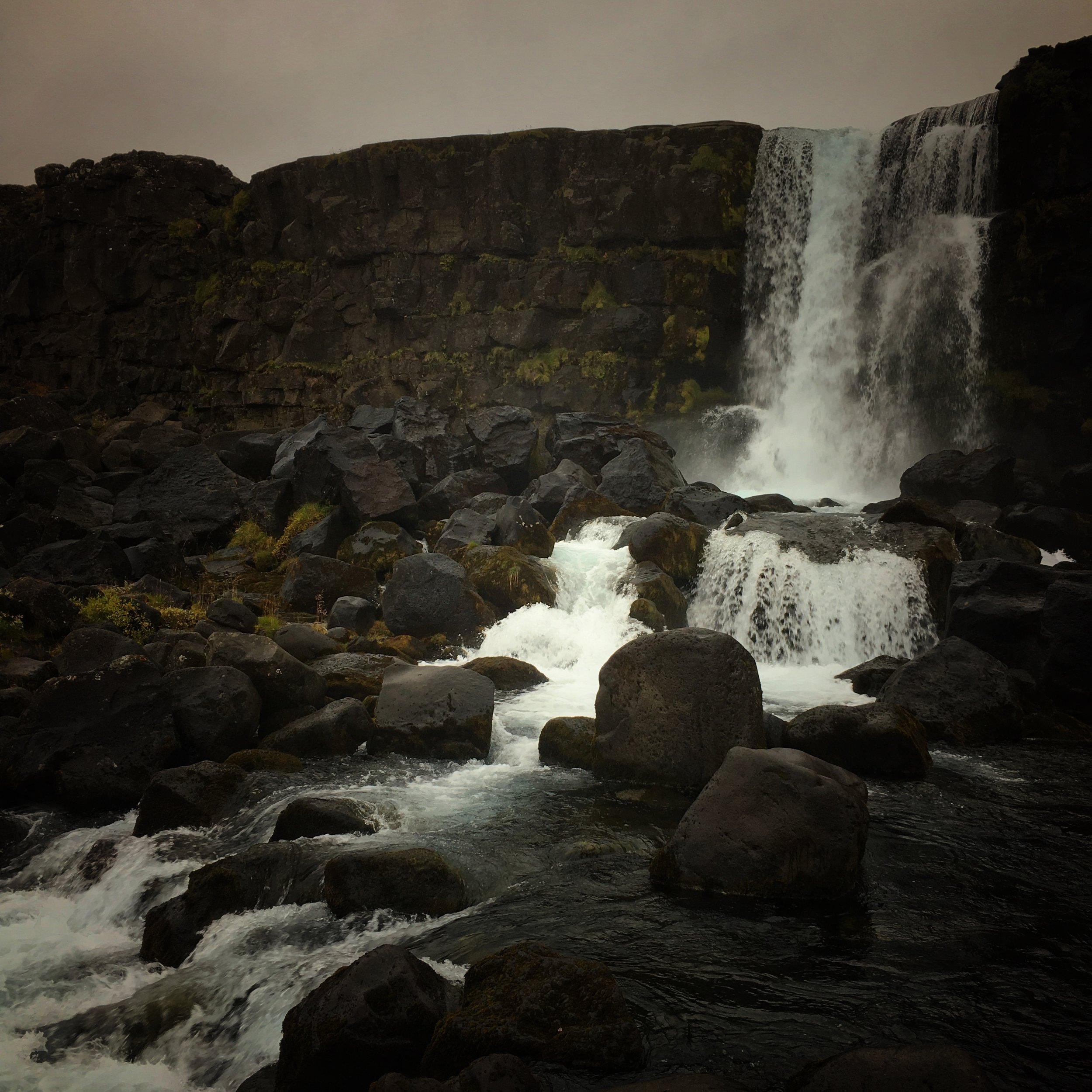 the bloody thirsty and macabre Þingvellir historic site & national park