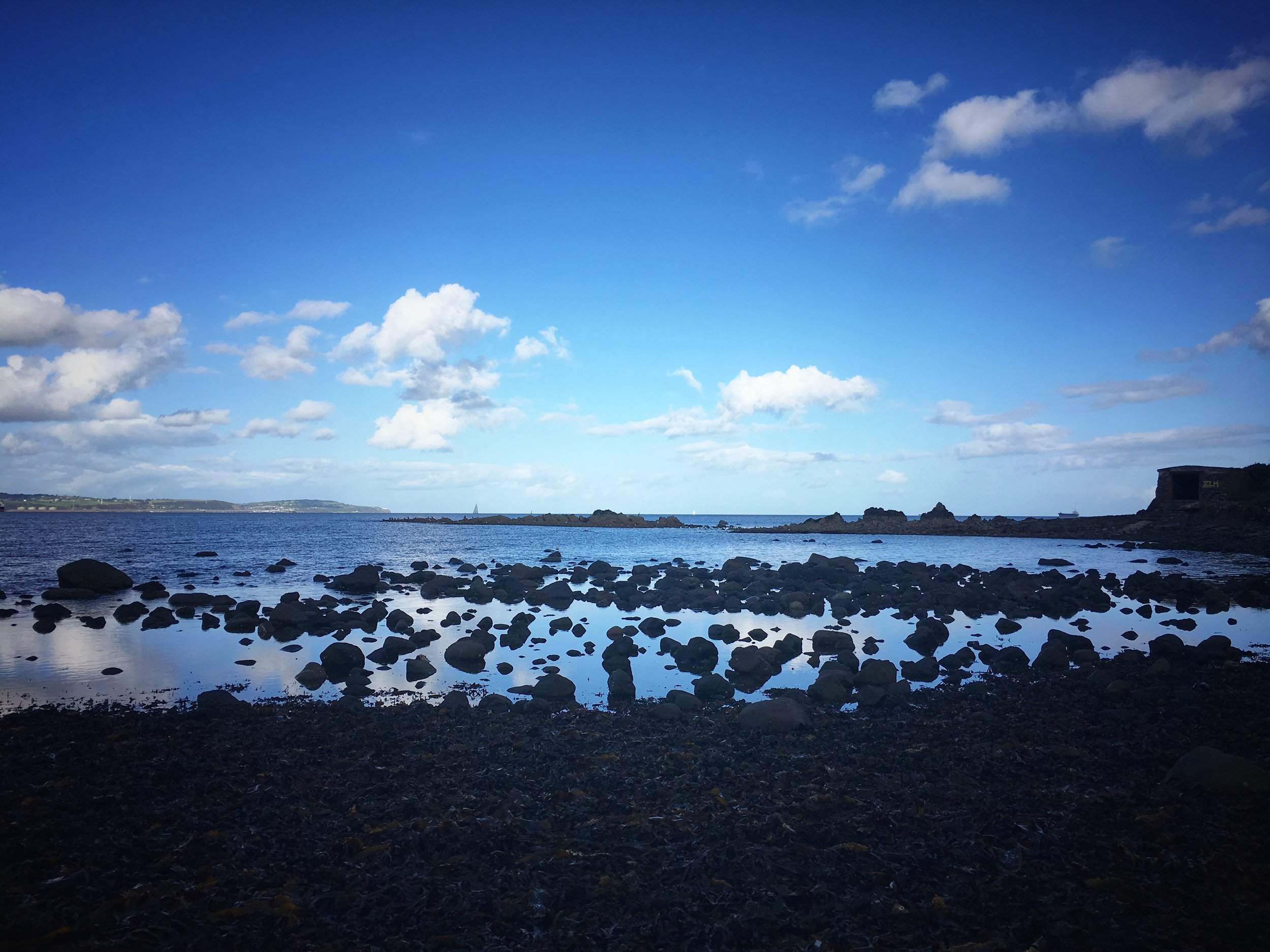 coastal walking : bangor