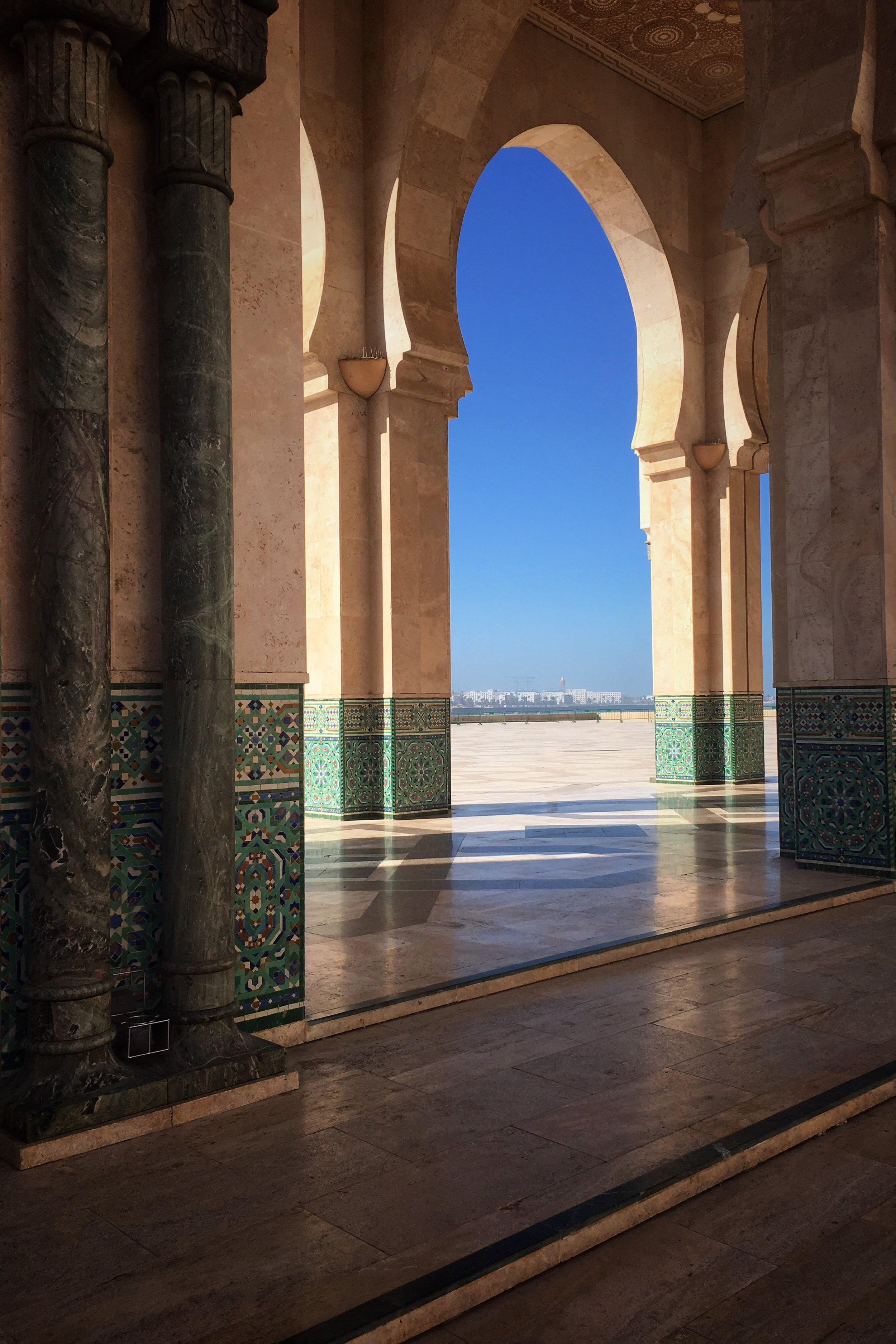Hassan II mosque   http://www.fmh2.ma/