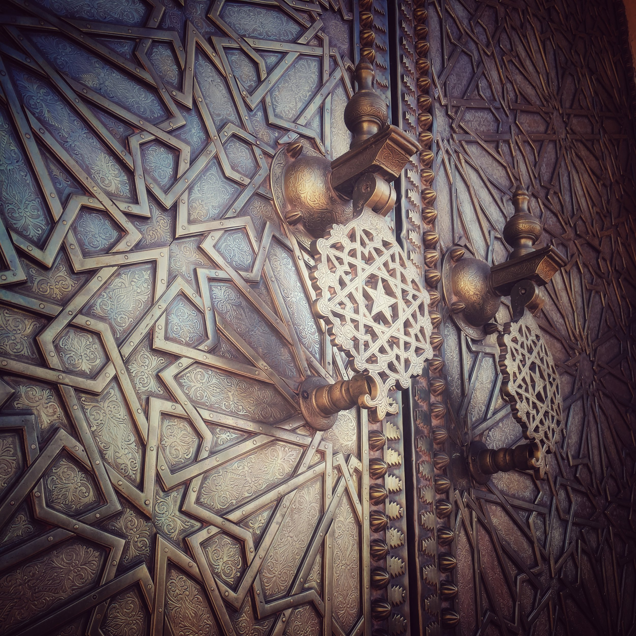royal palace door, Fes