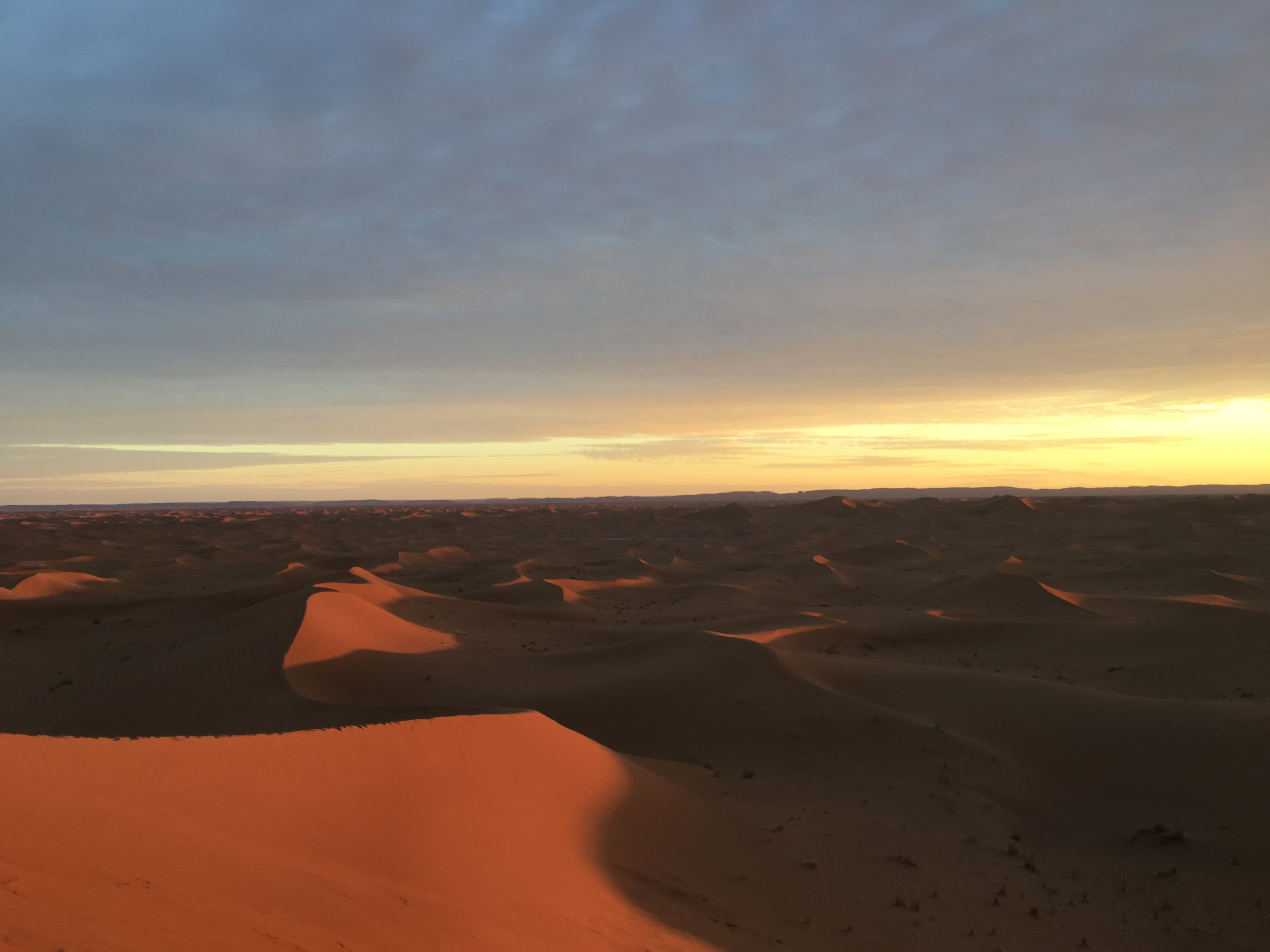 Sahara sunset