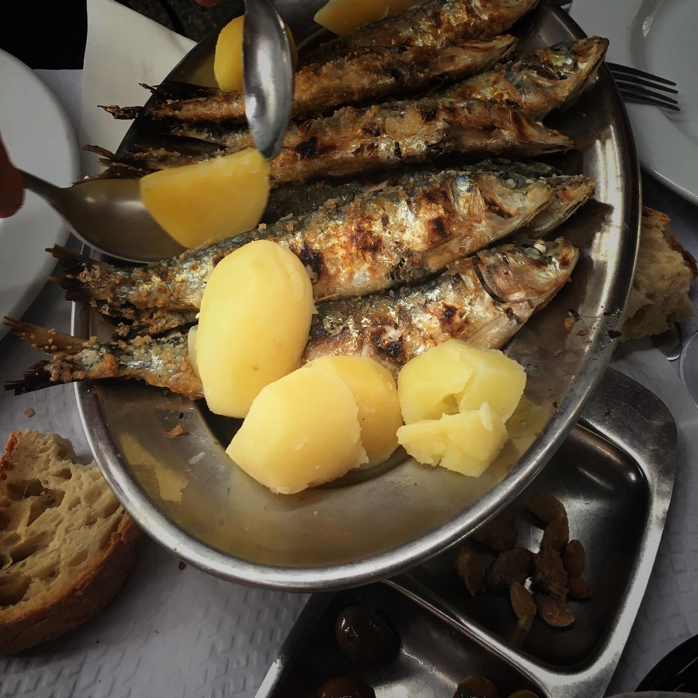 sardines @Último Porto