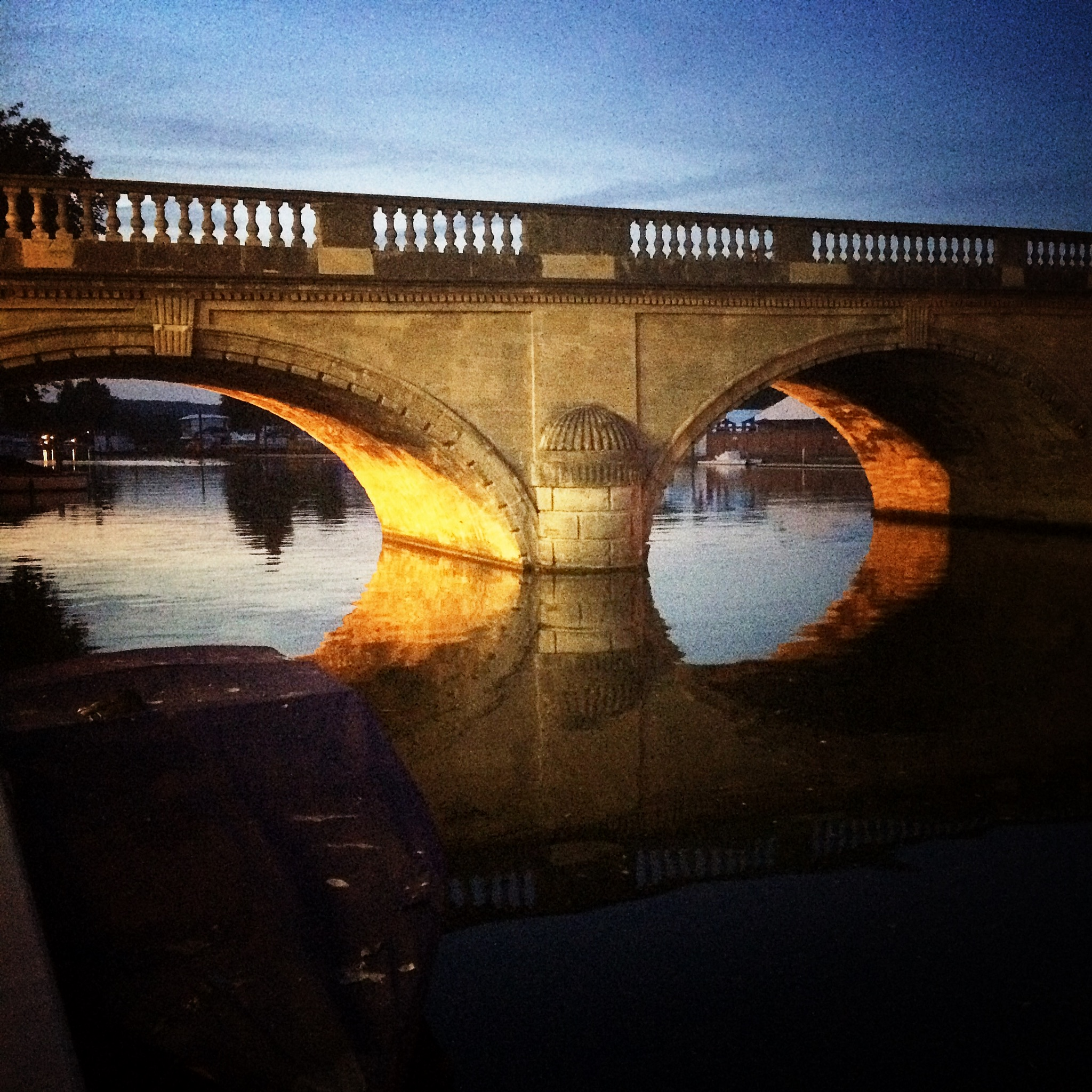Henley on Thames at its gloaming best