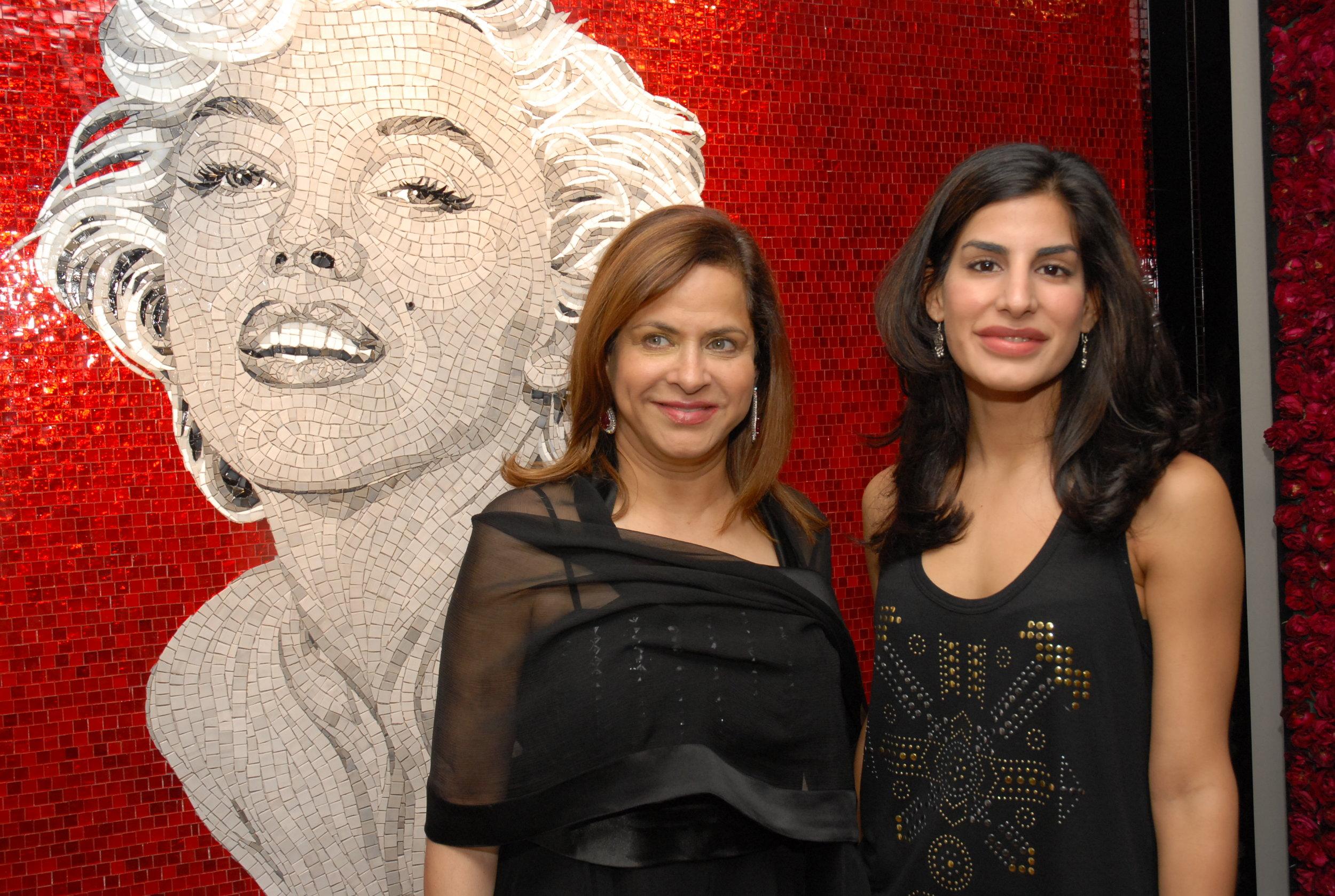 Ramola Bachchan and Priya Sachdev.JPG