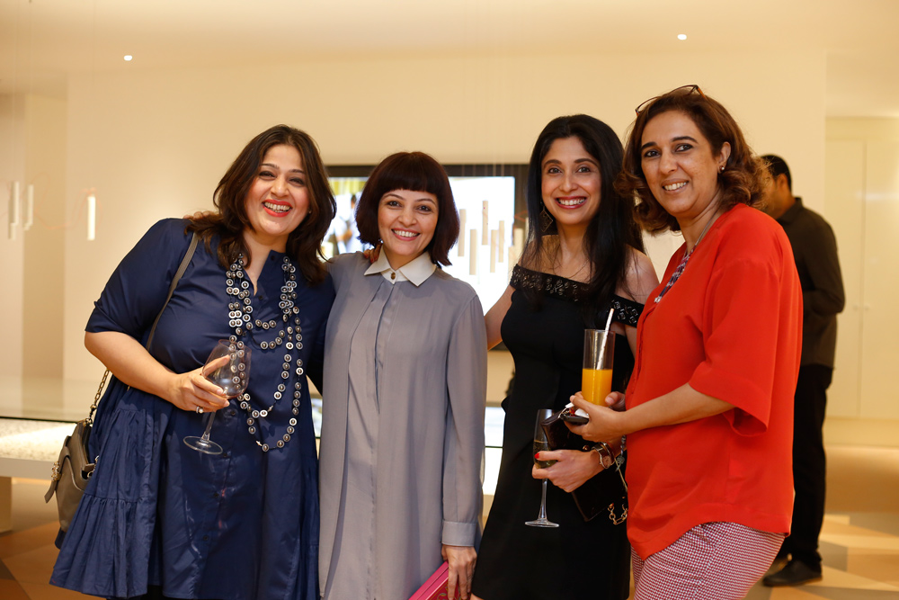 Sonia Bajaj , Stategic Brand and Design Consultant,  Mrudul Pathak Kundu , National Creative Director, ELLE Decor,   Matisha Kothari , Principal Architect, Kothari & Associates, New Delhi,  Pramiti Madhavji , Editorial and Content Director, ELLE Decor