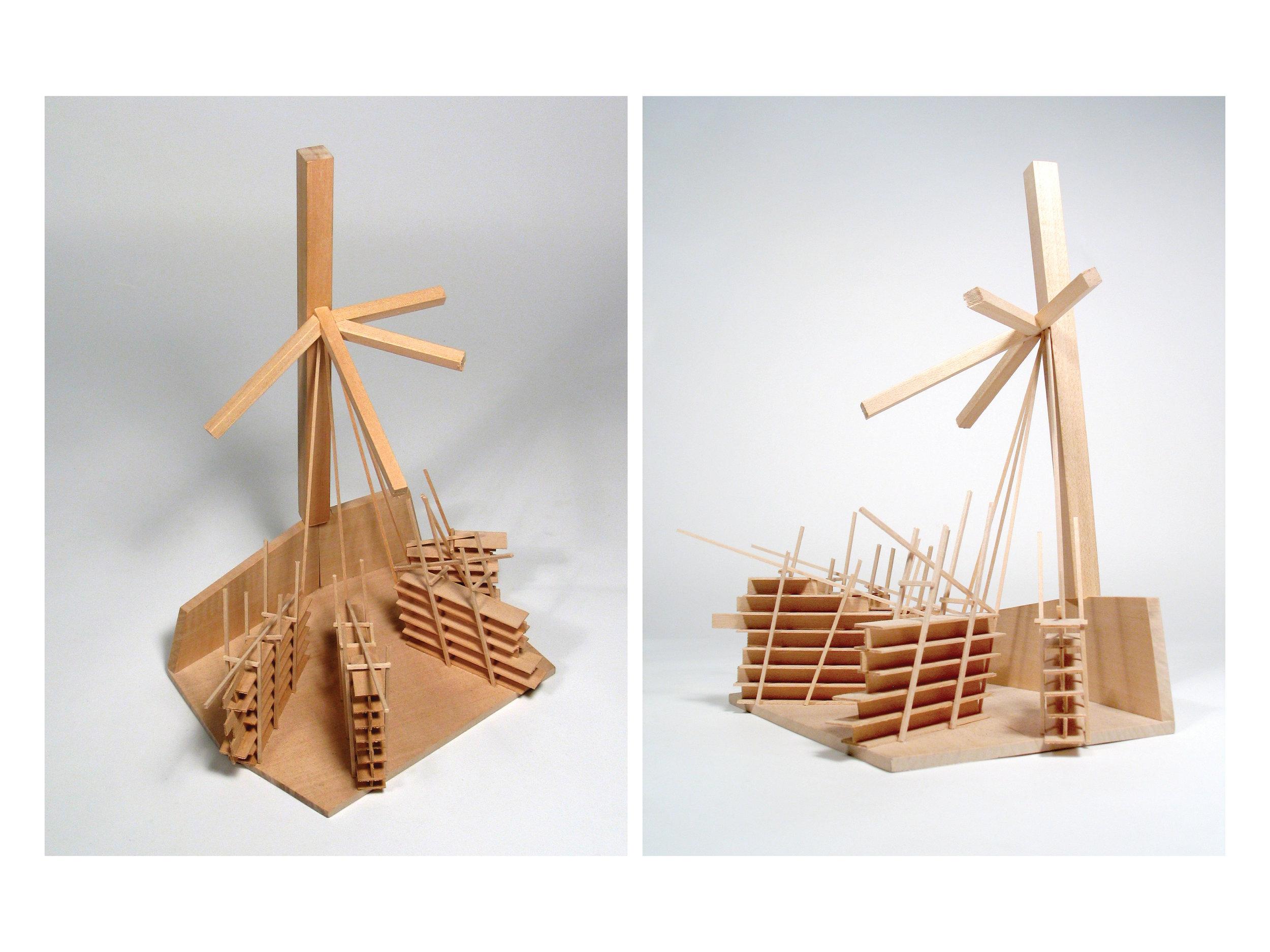 Detail Model of Stacks