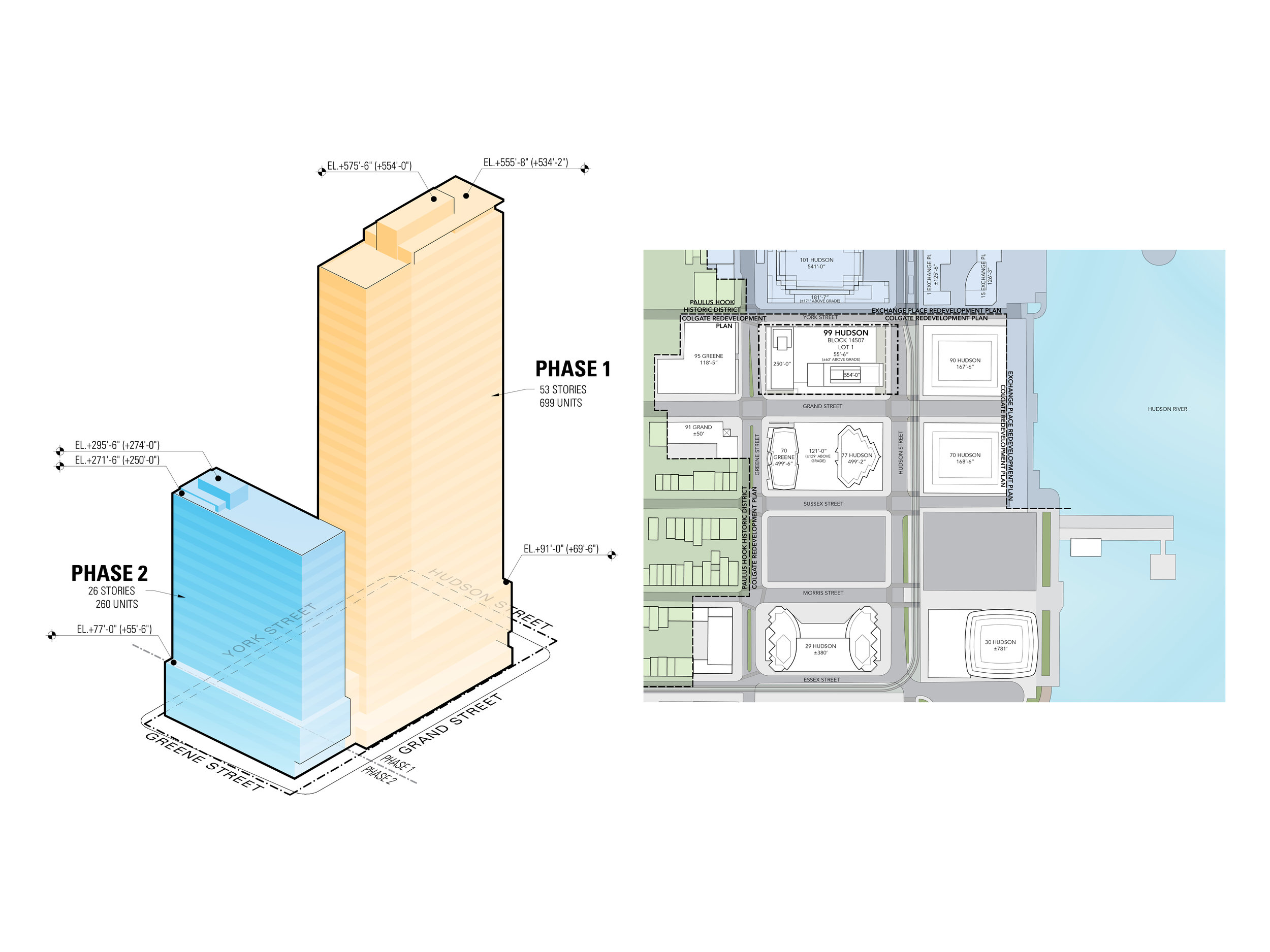 Building Envelope Diagram and Site Plan