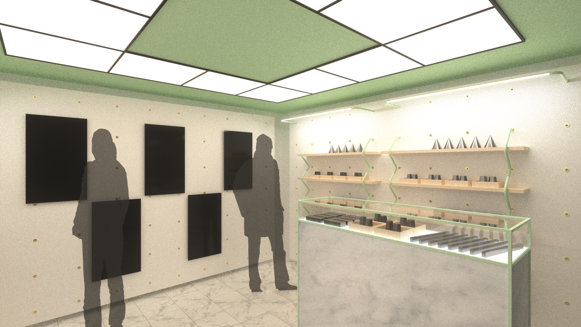 Interior Rendering, Option A